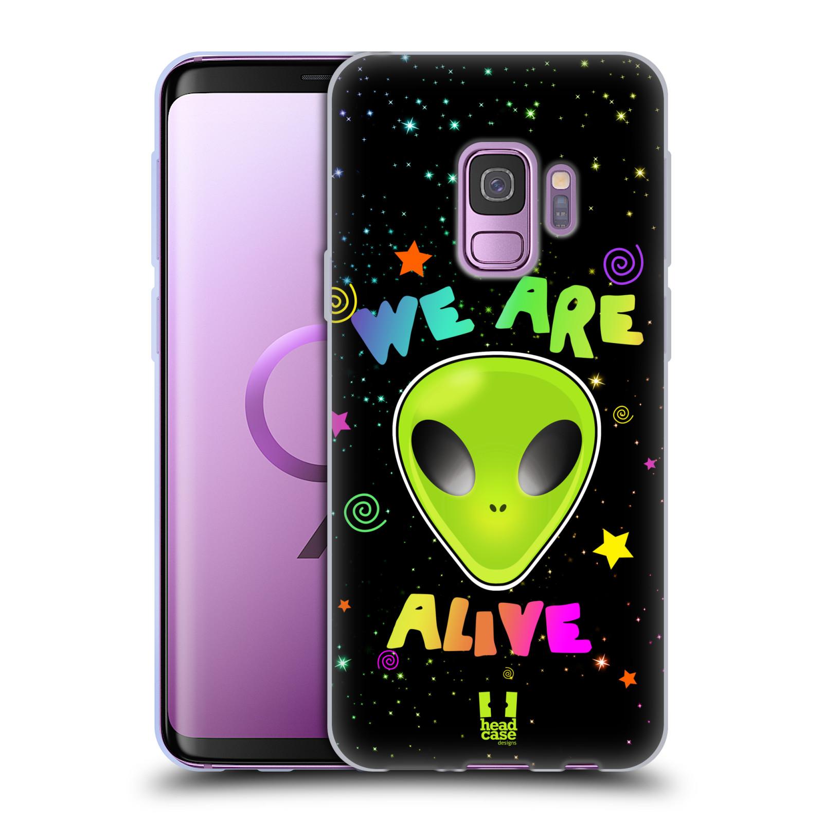 Silikonové pouzdro na mobil Samsung Galaxy S9 - Head Case - ALIENS ALIVE