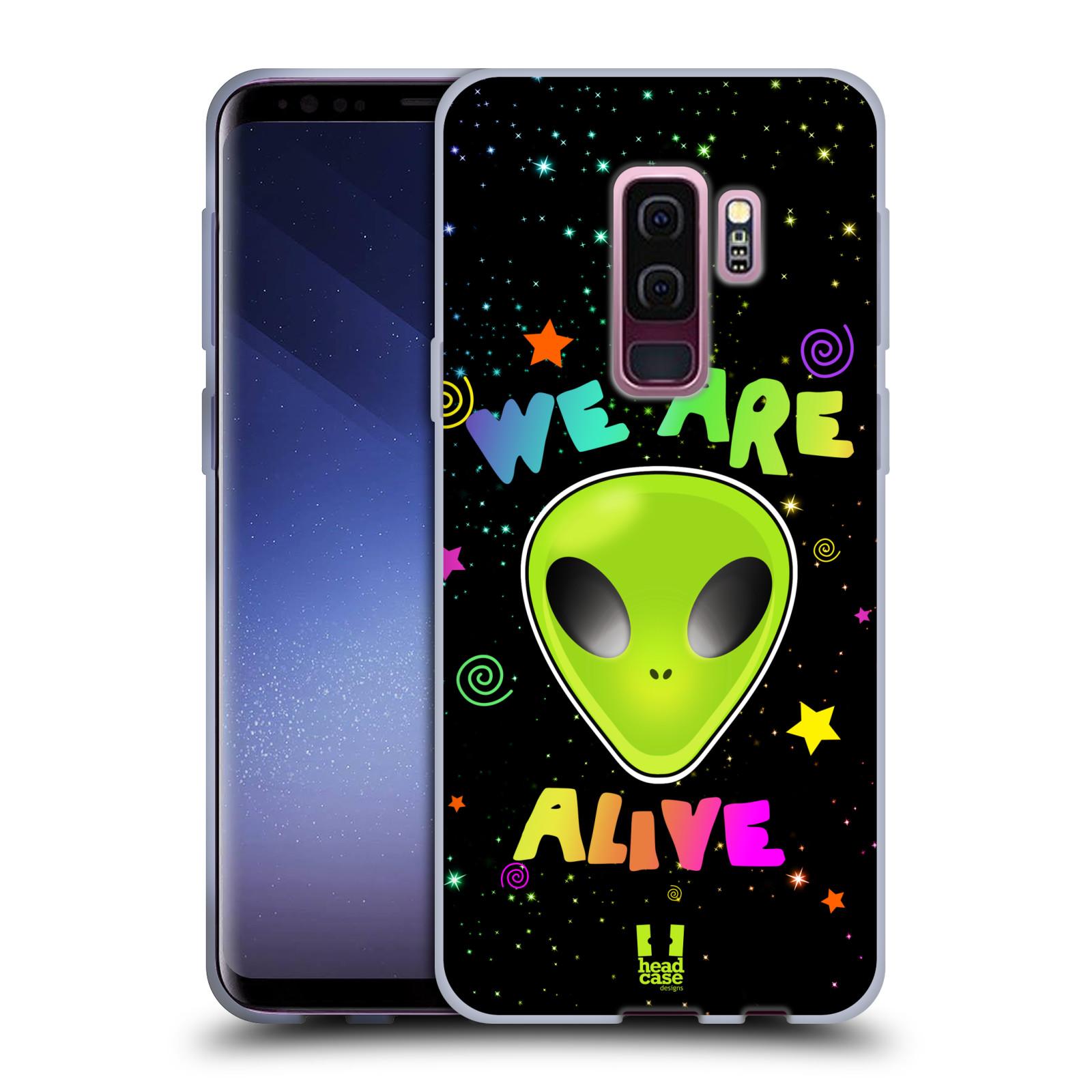 Silikonové pouzdro na mobil Samsung Galaxy S9 Plus - Head Case - ALIENS ALIVE