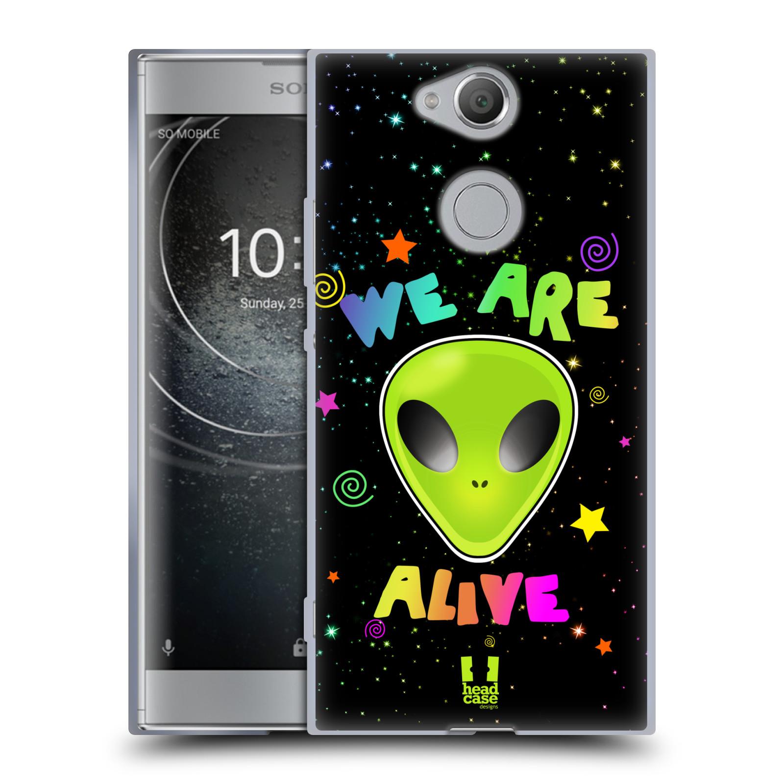 Silikonové pouzdro na mobil Sony Xperia XA2 - Head Case - ALIENS ALIVE