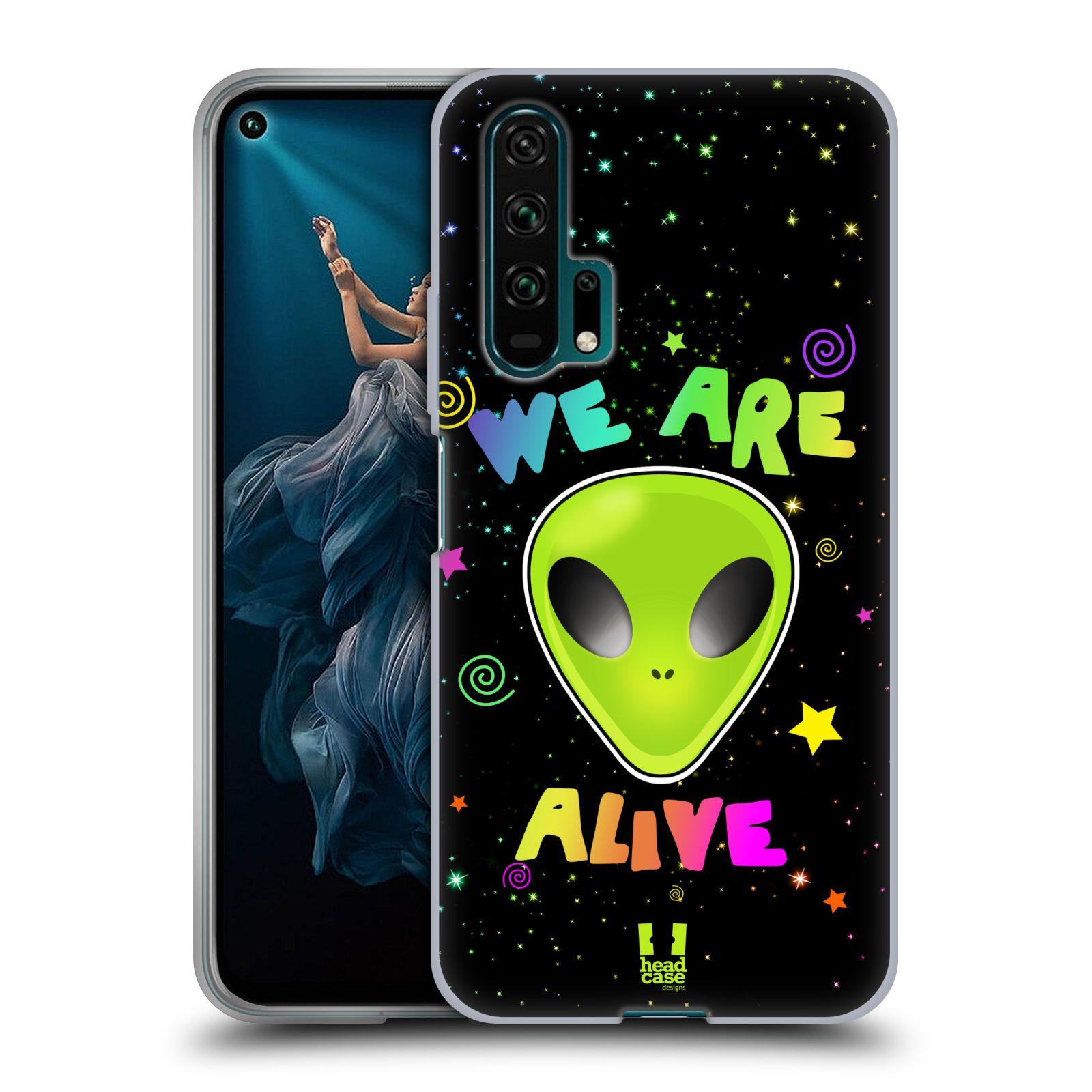 Silikonové pouzdro na mobil Honor 20 Pro - Head Case - ALIENS ALIVE