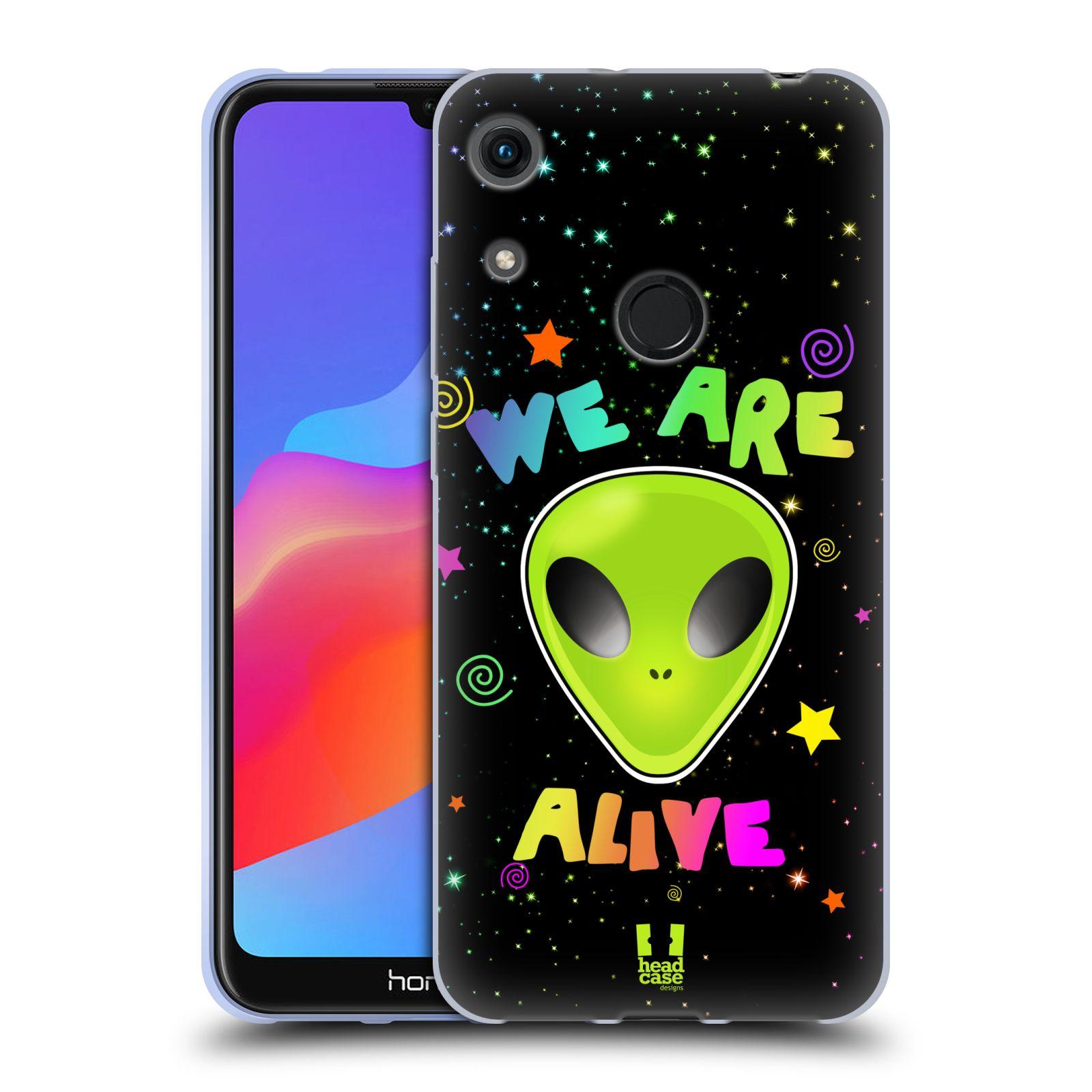 Silikonové pouzdro na mobil Honor 8A - Head Case - ALIENS ALIVE