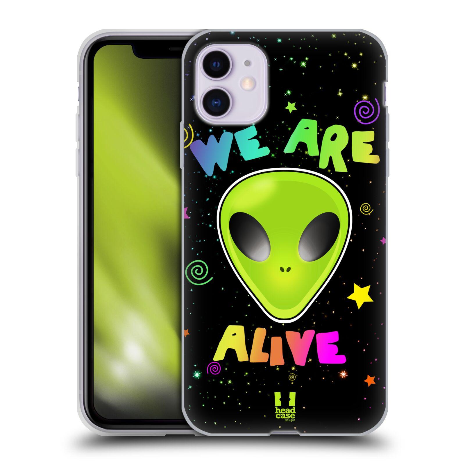 Silikonové pouzdro na mobil Apple iPhone 11 - Head Case - ALIENS ALIVE