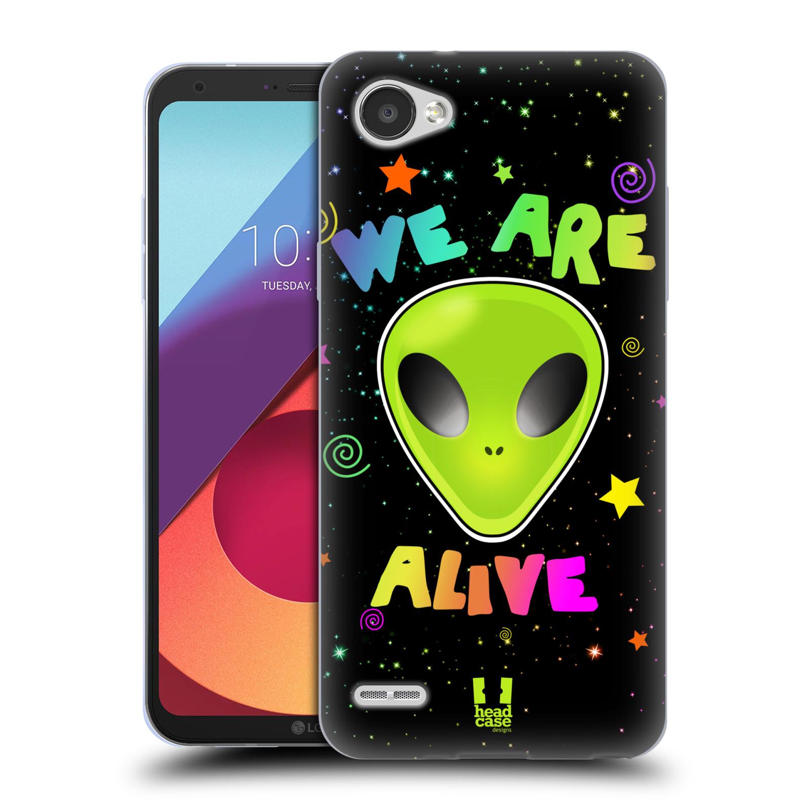 Silikonové pouzdro na mobil LG Q6 - Head Case - ALIENS ALIVE