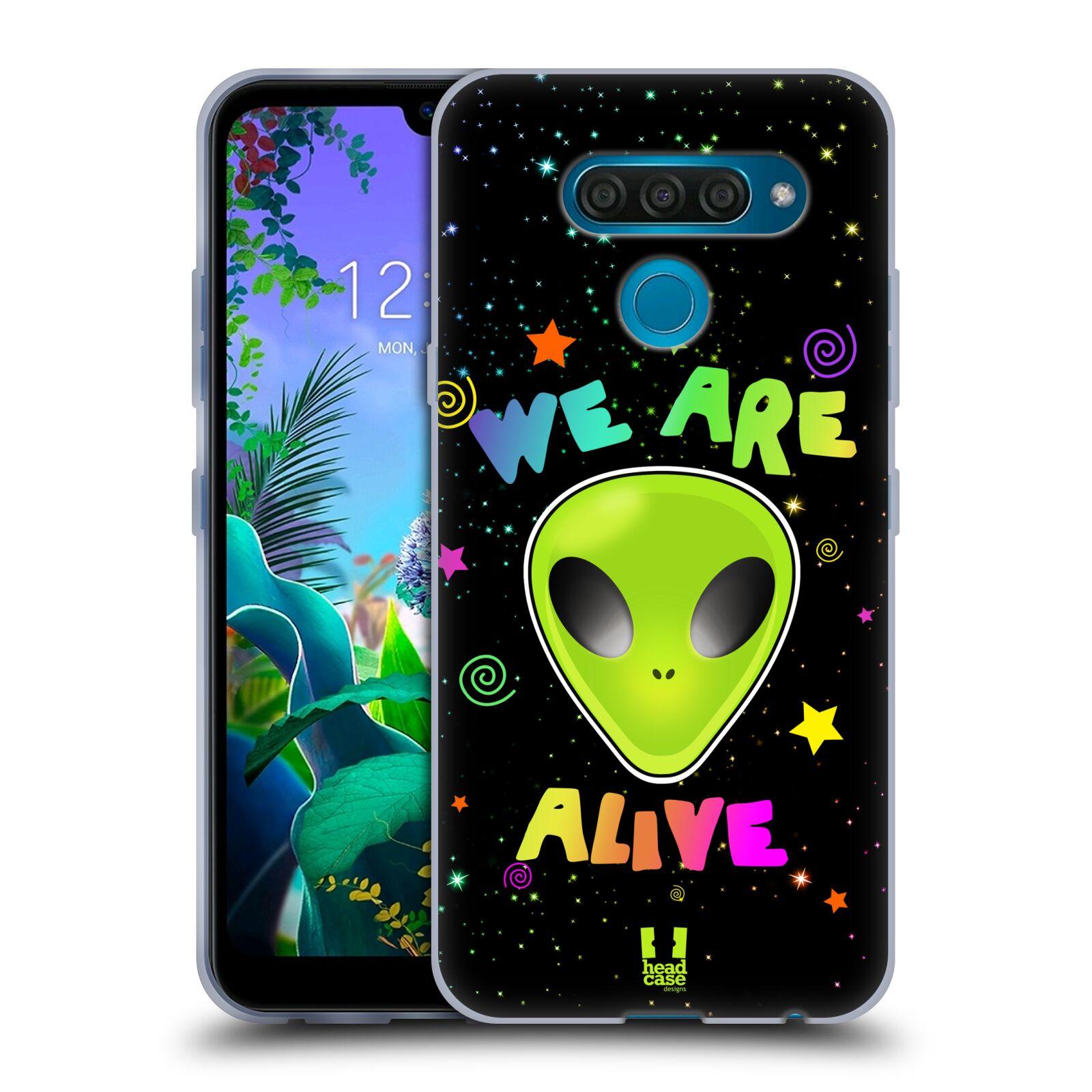 Silikonové pouzdro na mobil LG Q60 - Head Case - ALIENS ALIVE