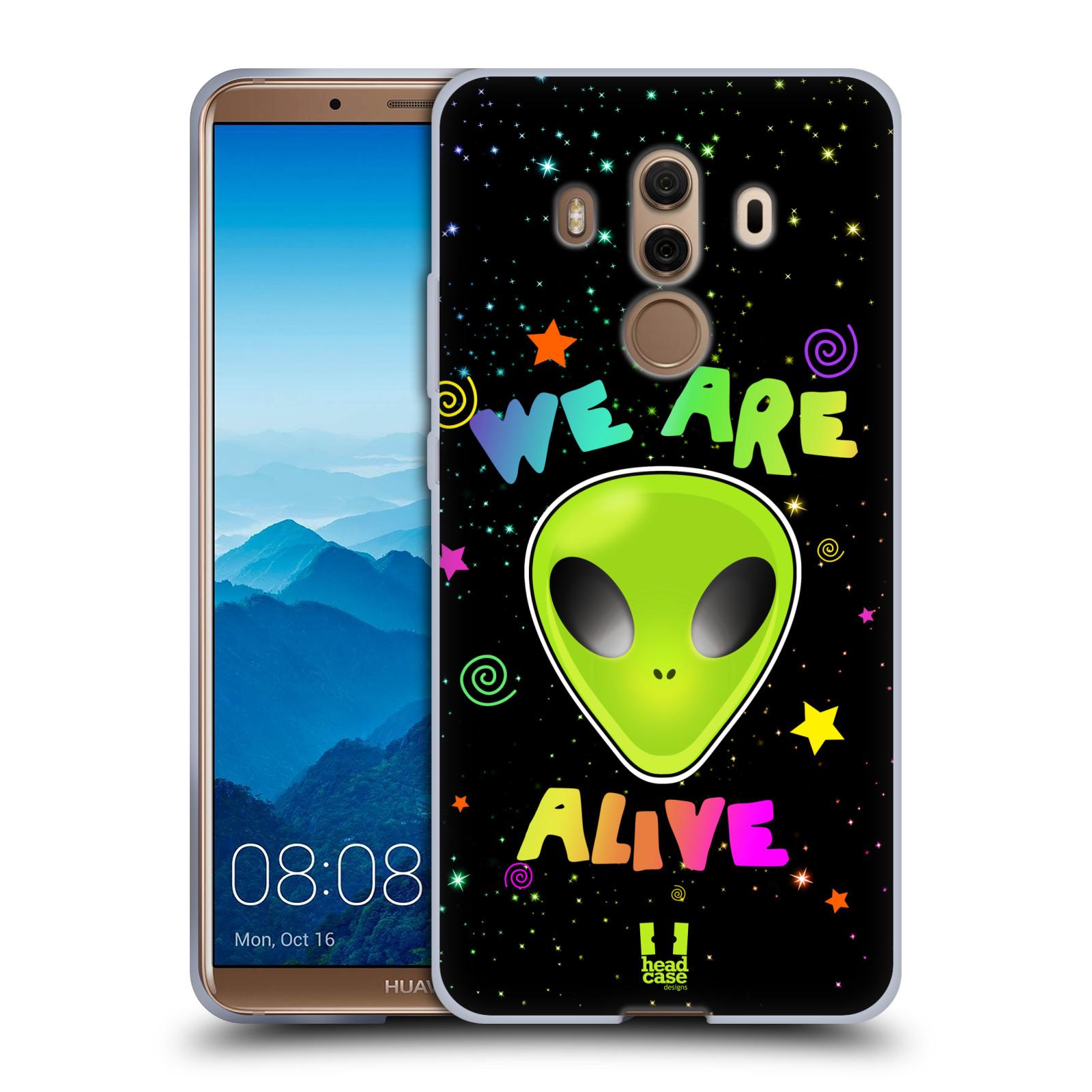 Silikonové pouzdro na mobil Huawei Mate 10 Pro - Head Case - ALIENS ALIVE