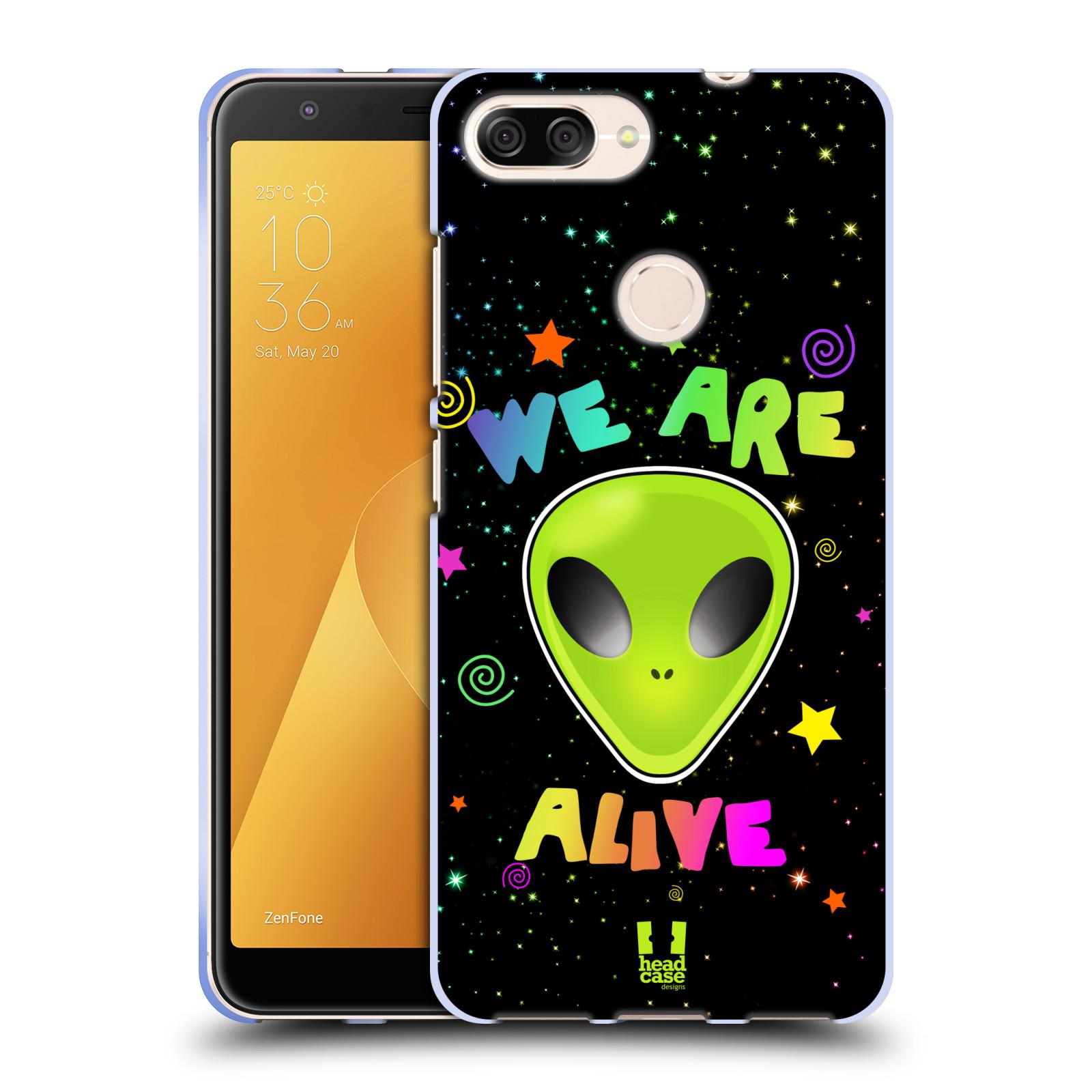 Silikonové pouzdro na mobil Asus ZenFone Max Plus (M1) - Head Case - ALIENS ALIVE