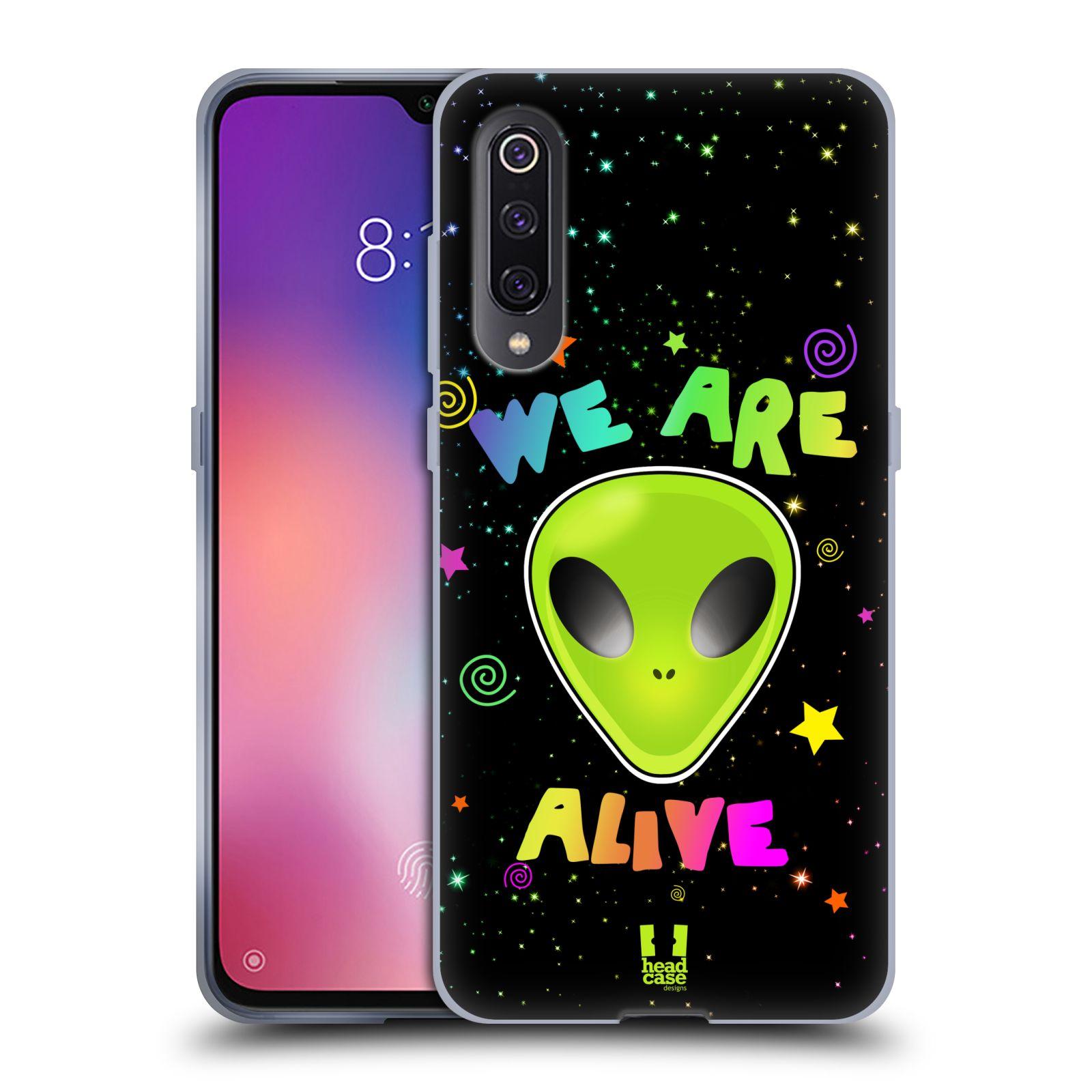 Silikonové pouzdro na mobil Xiaomi Mi 9 - Head Case - ALIENS ALIVE