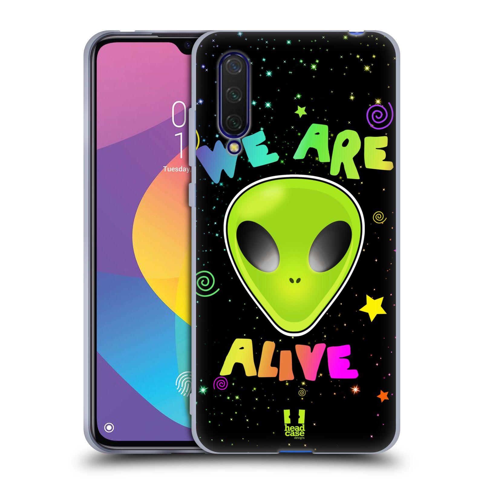 Silikonové pouzdro na mobil Xiaomi Mi 9 Lite - Head Case - ALIENS ALIVE