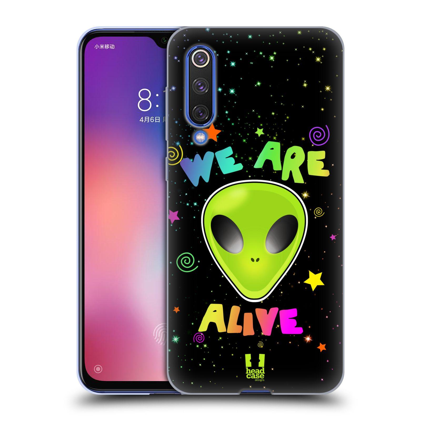Silikonové pouzdro na mobil Xiaomi Mi 9 SE - Head Case - ALIENS ALIVE