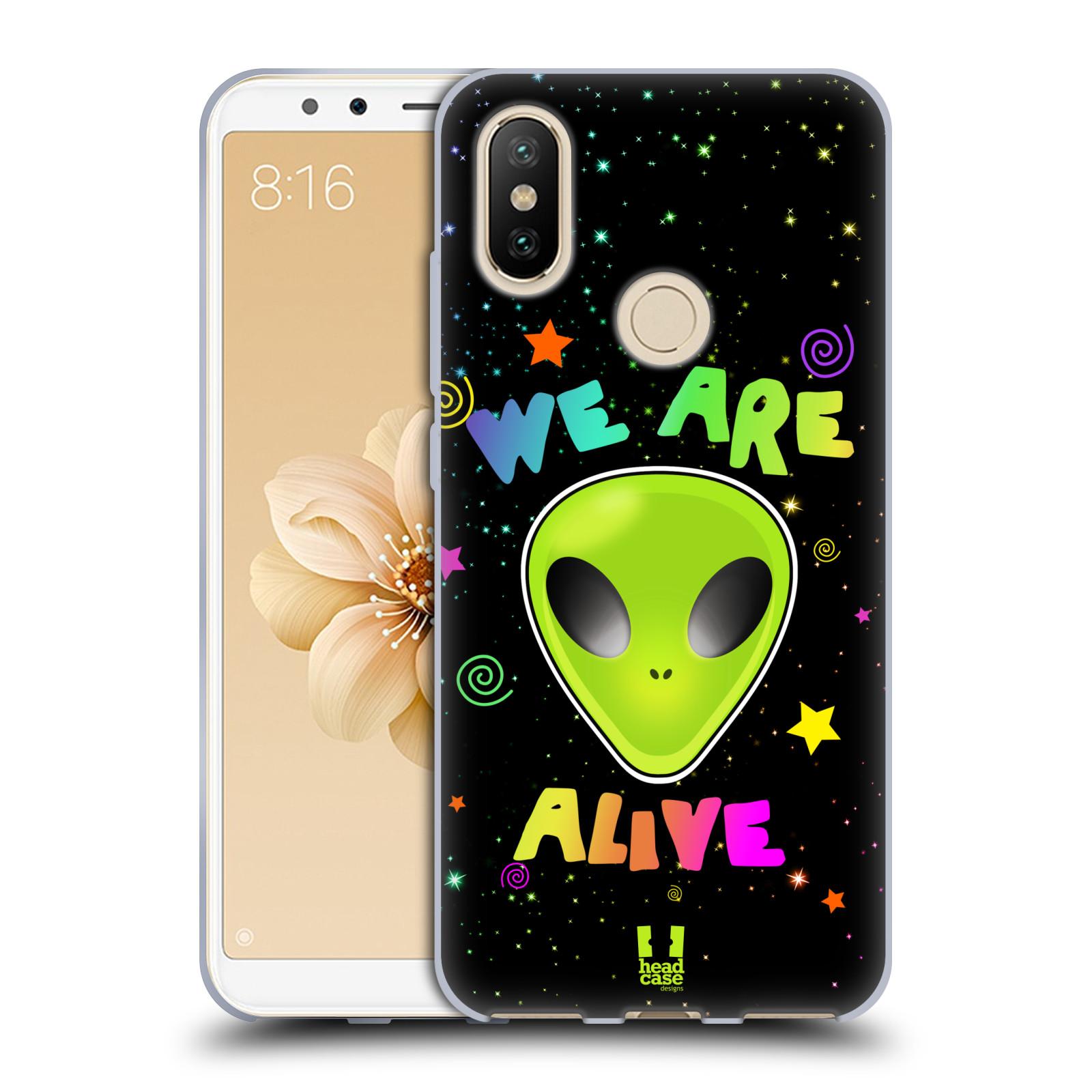 Silikonové pouzdro na mobil Xiaomi Mi A2 - Head Case - ALIENS ALIVE