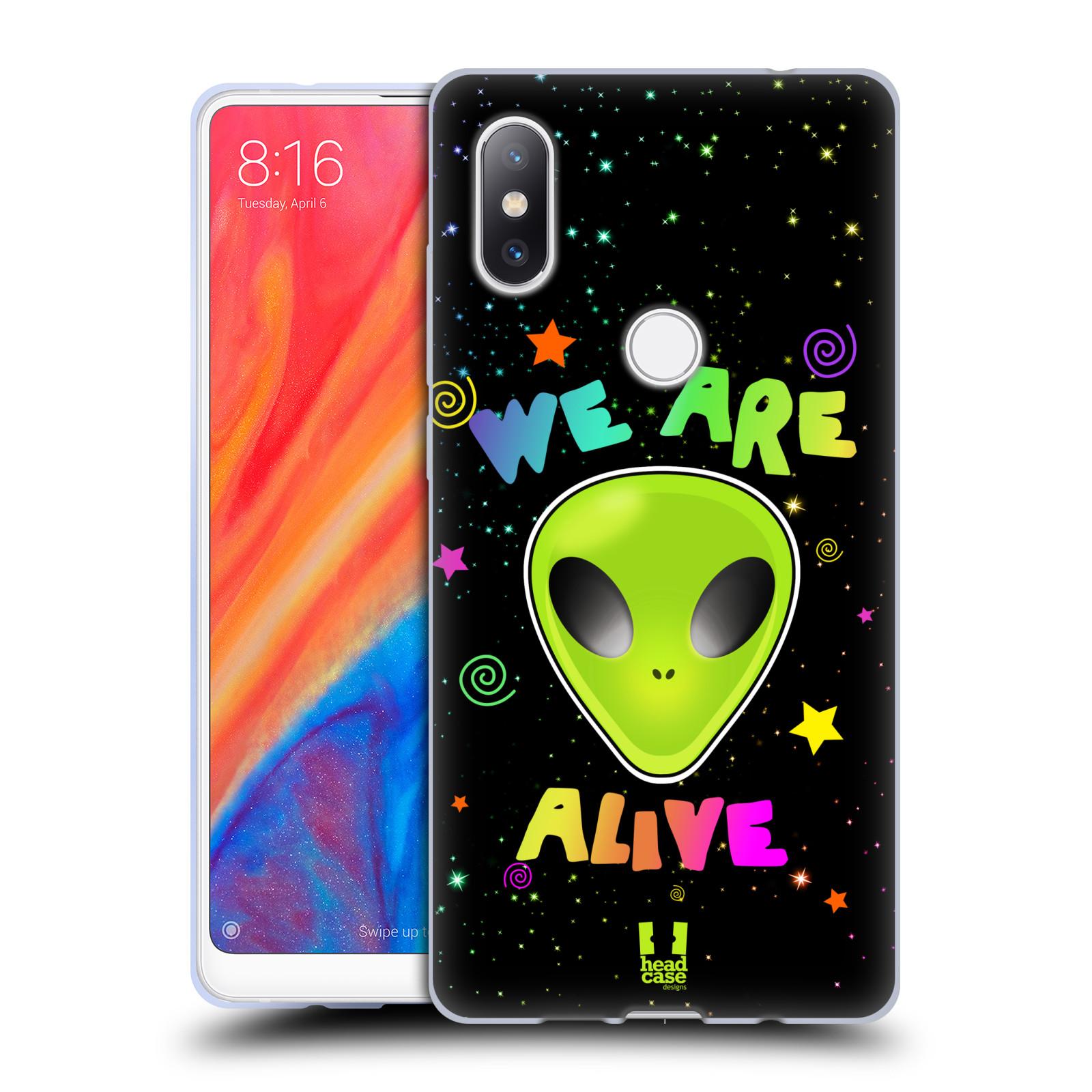 Silikonové pouzdro na mobil Xiaomi Mi Mix 2S - Head Case - ALIENS ALIVE