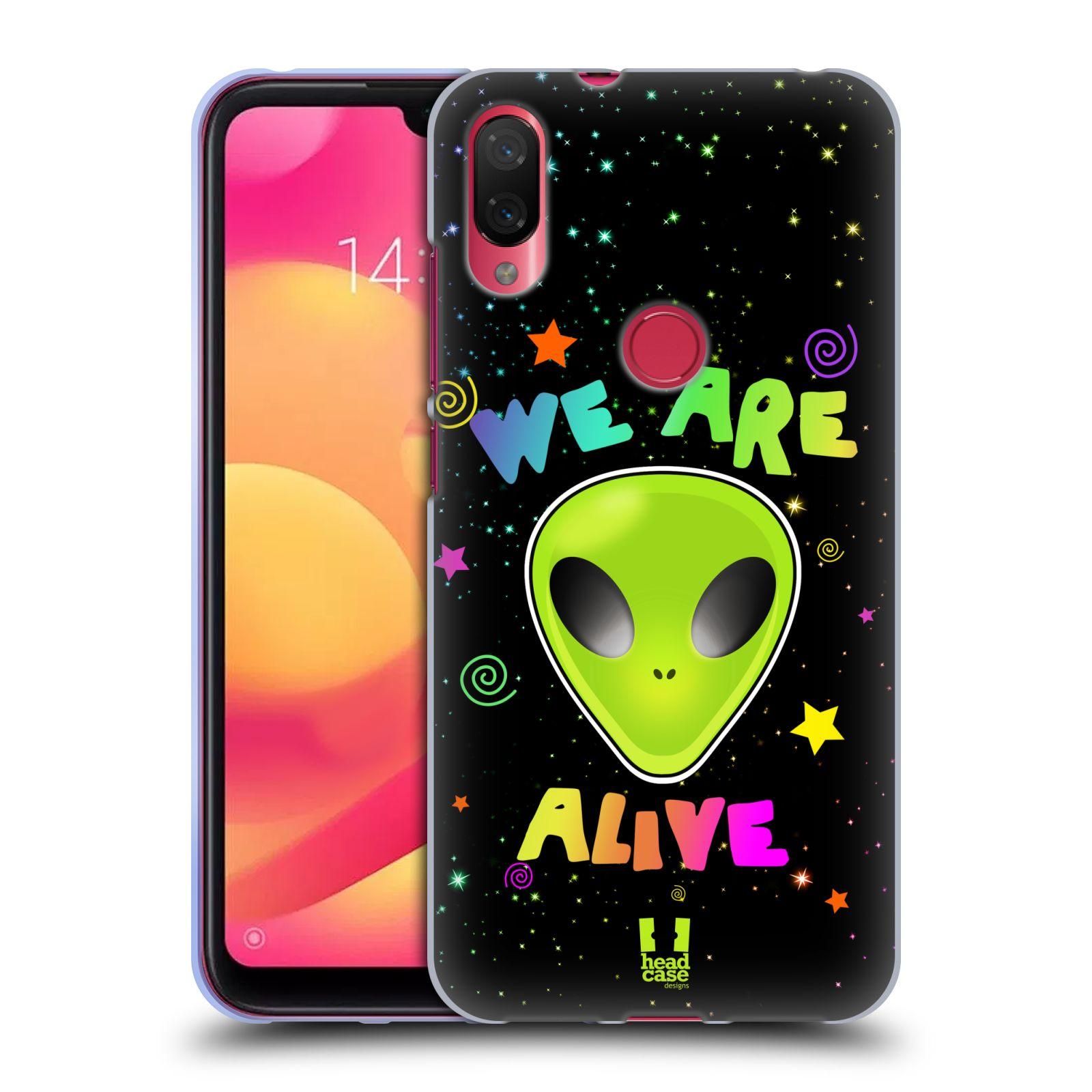 Silikonové pouzdro na mobil Xiaomi Mi Play - Head Case - ALIENS ALIVE