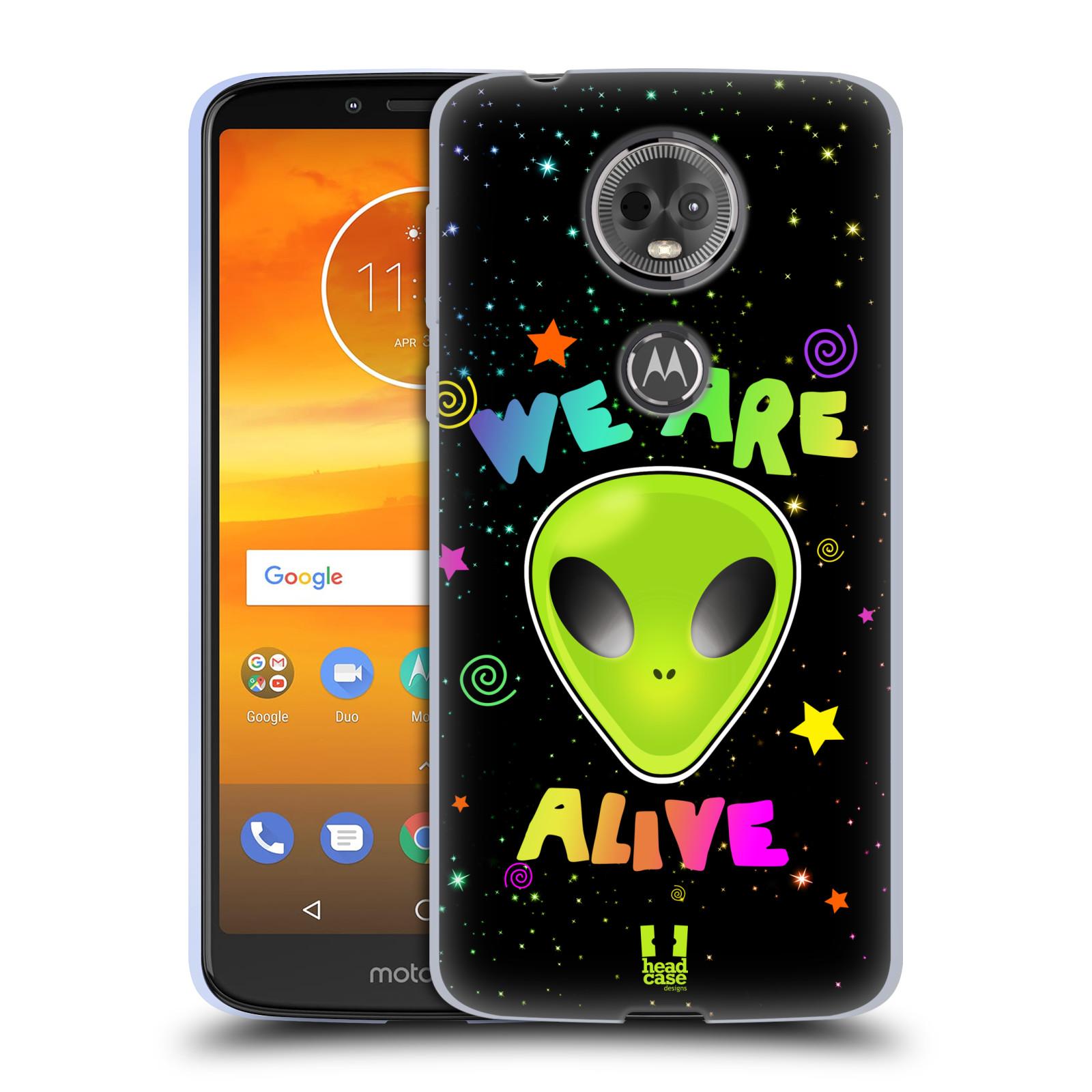 Silikonové pouzdro na mobil Motorola Moto E5 Plus - Head Case - ALIENS ALIVE