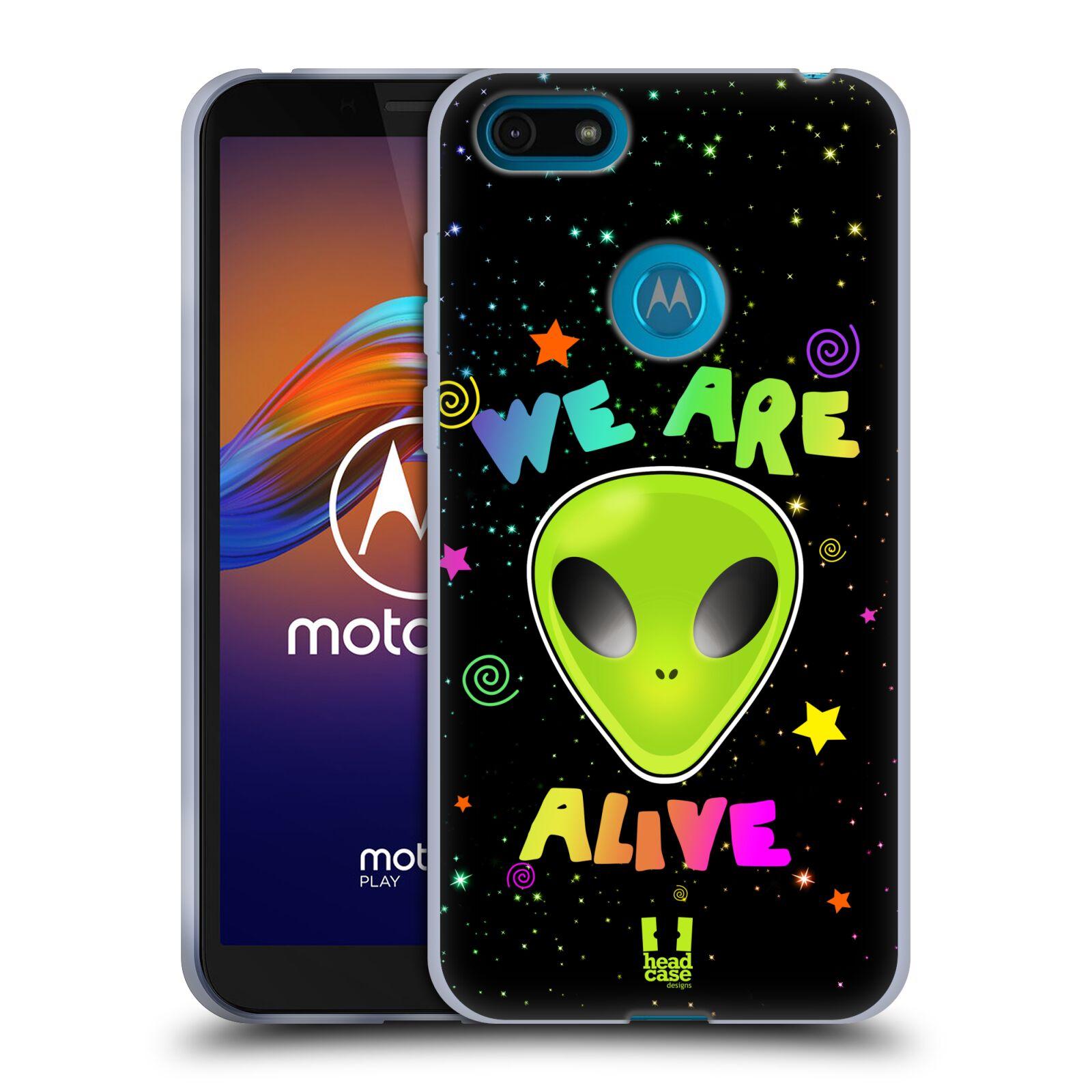 Silikonové pouzdro na mobil Motorola Moto E6 Play - Head Case - ALIENS ALIVE