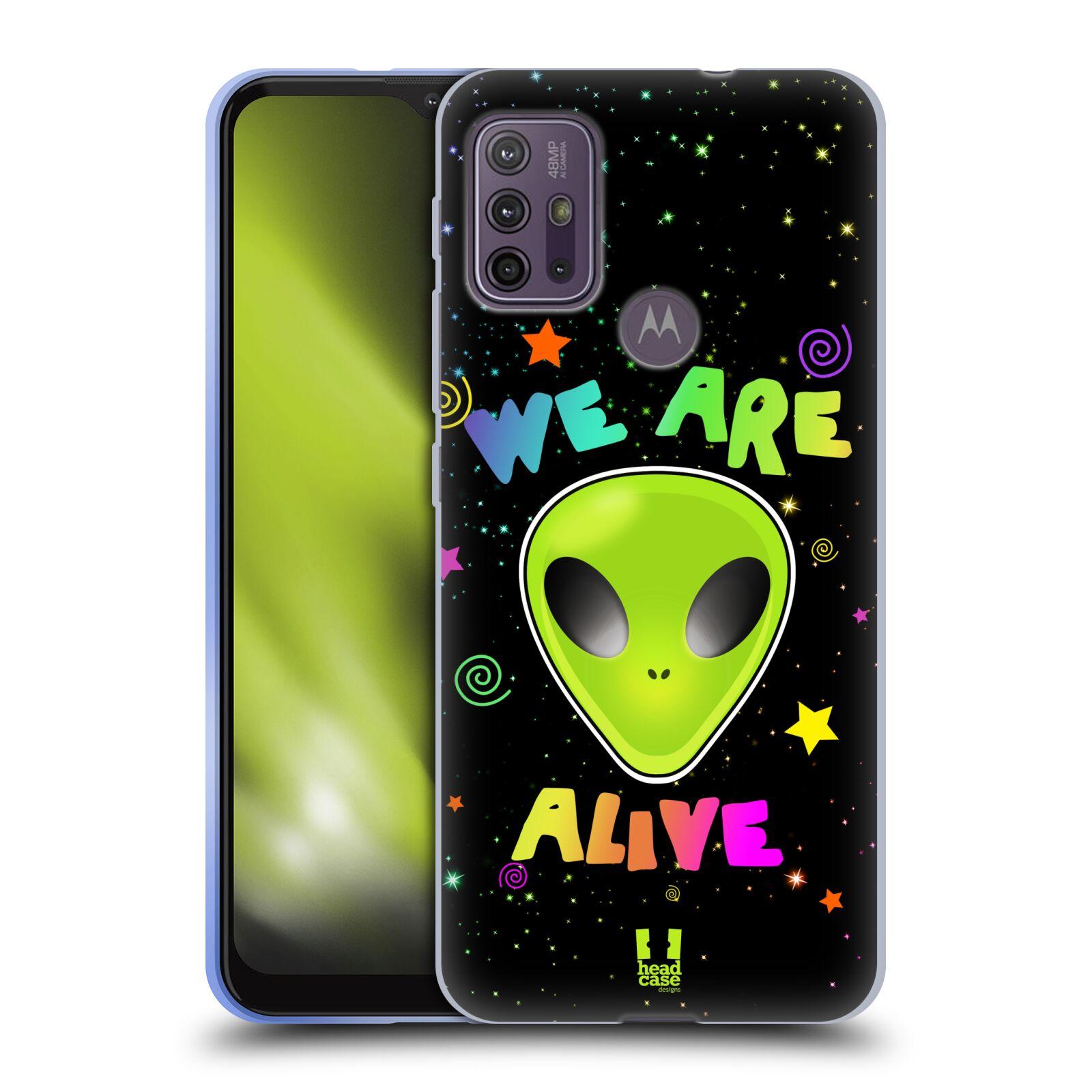 Silikonové pouzdro na mobil Motorola Moto G10 / G30 - Head Case - ALIENS ALIVE