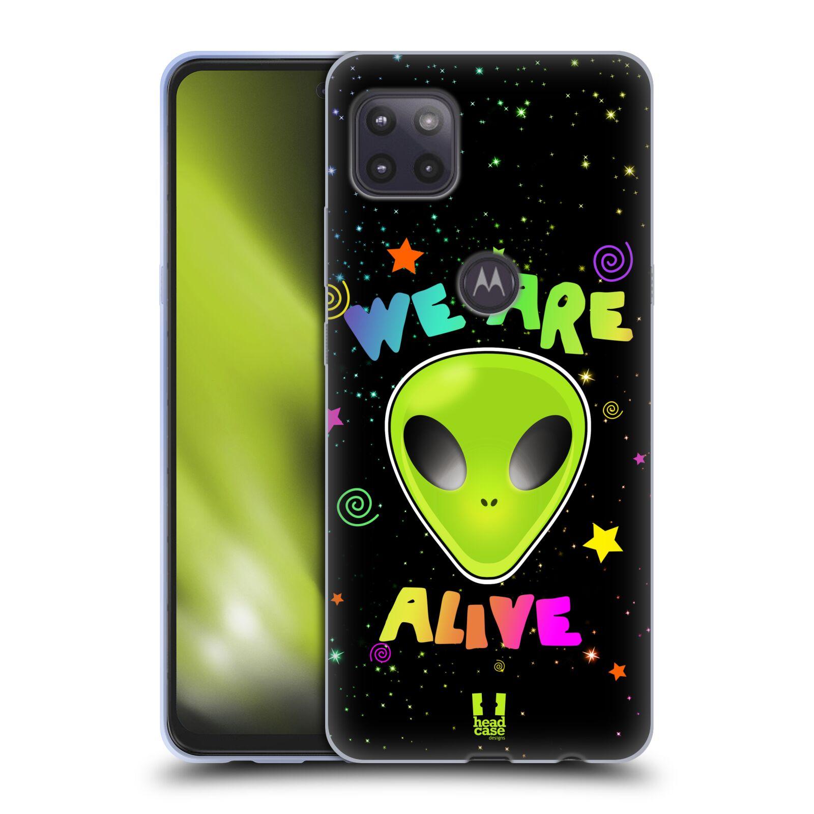 Silikonové pouzdro na mobil Motorola Moto G 5G - Head Case - ALIENS ALIVE