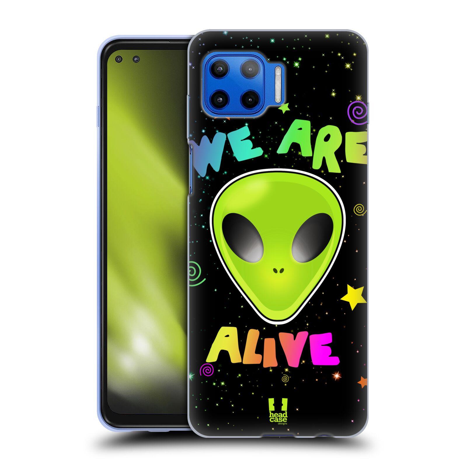 Silikonové pouzdro na mobil Motorola Moto G 5G Plus - Head Case - ALIENS ALIVE