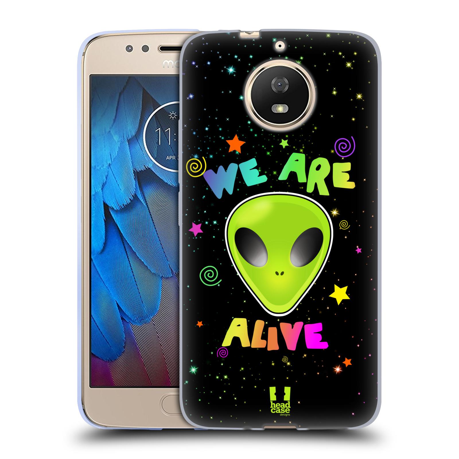 Silikonové pouzdro na mobil Lenovo Moto G5s - Head Case - ALIENS ALIVE