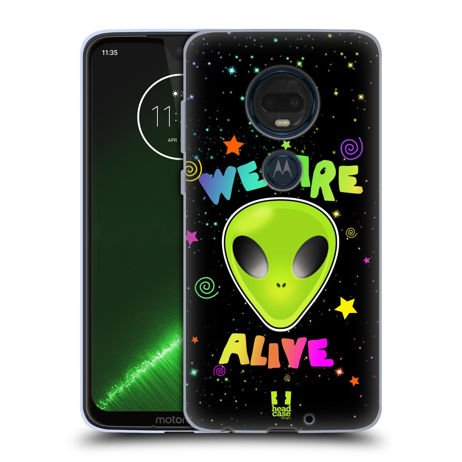 Silikonové pouzdro na mobil Motorola Moto G7 Plus - Head Case - ALIENS ALIVE