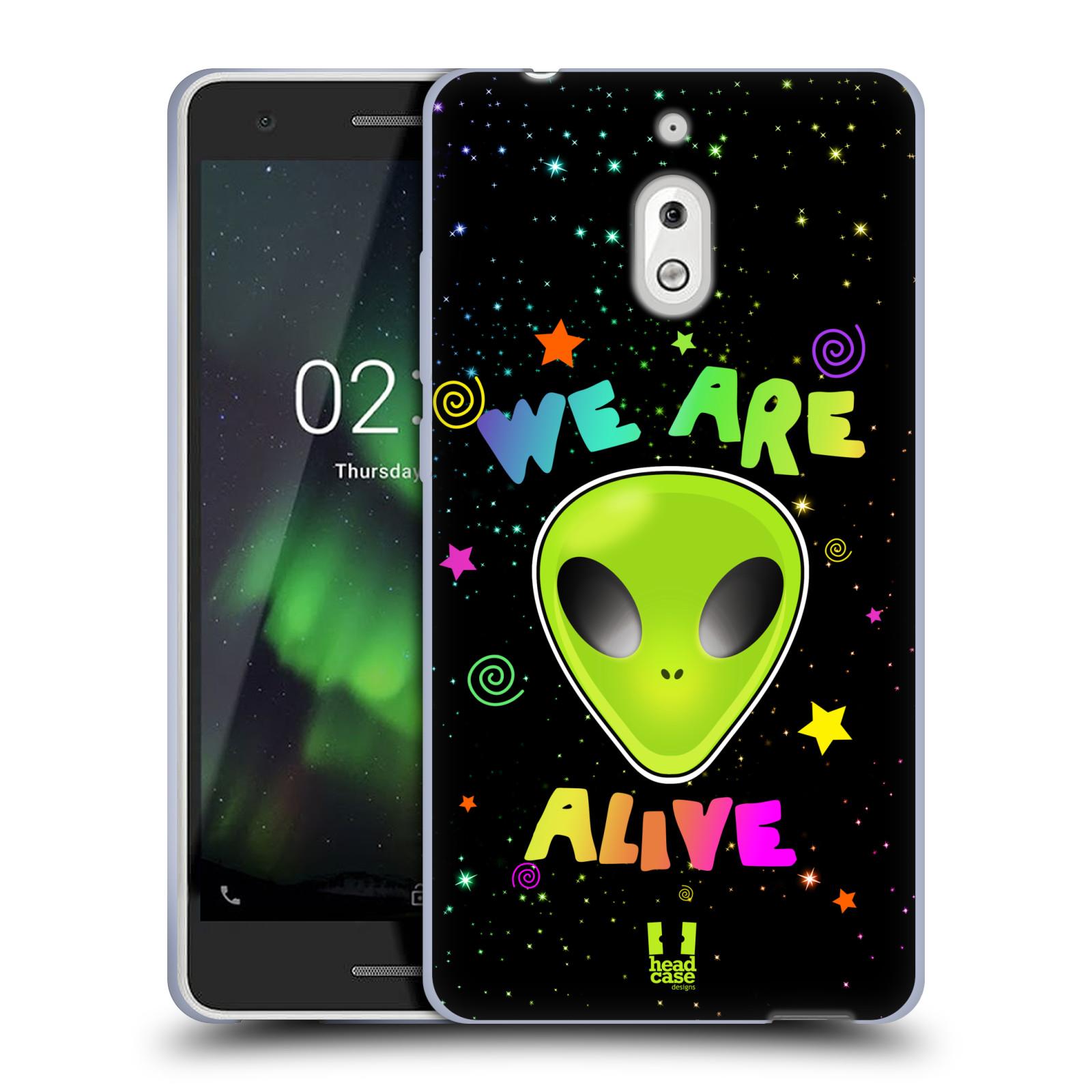 Silikonové pouzdro na mobil Nokia 2.1 - Head Case - ALIENS ALIVE