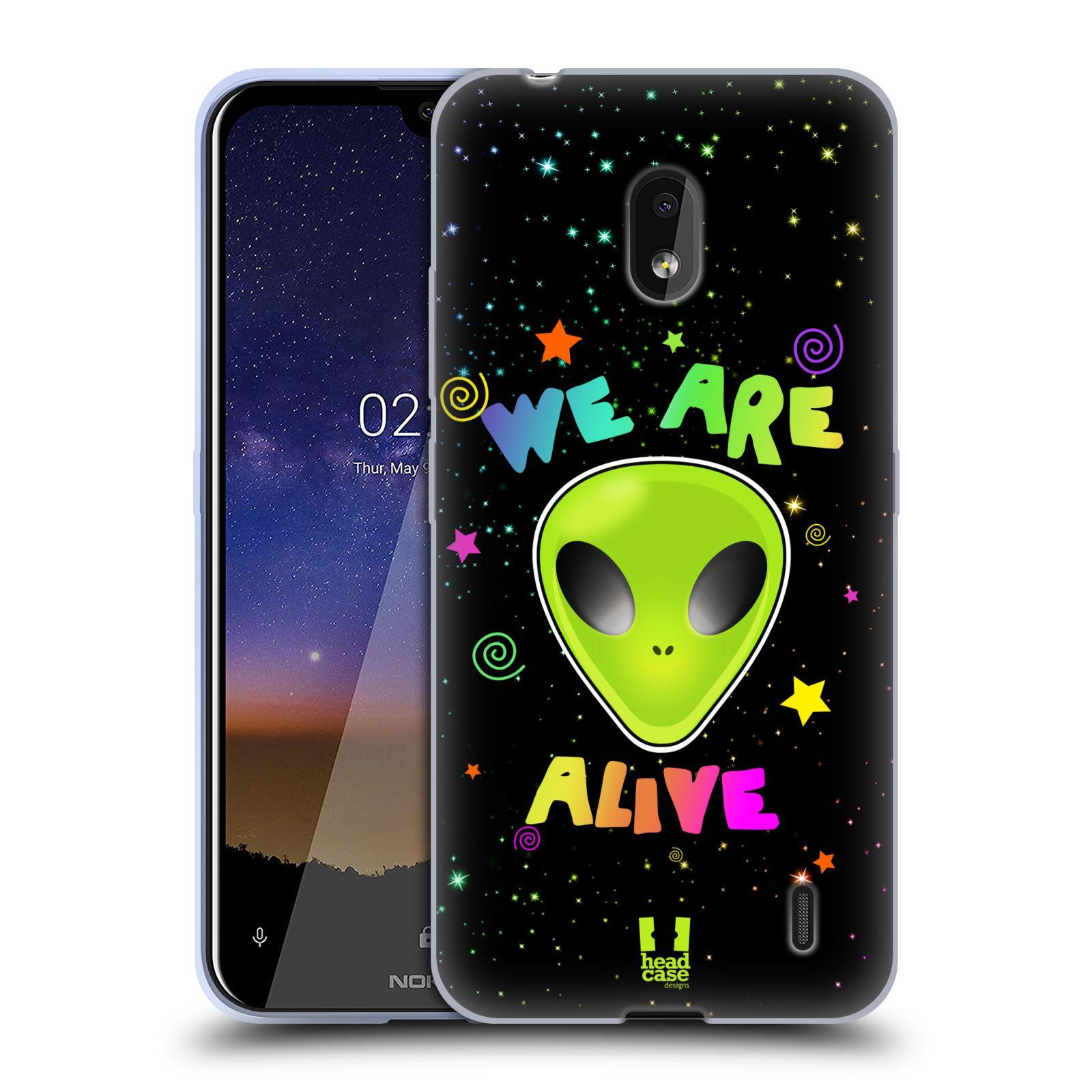Silikonové pouzdro na mobil Nokia 2.2 - Head Case - ALIENS ALIVE