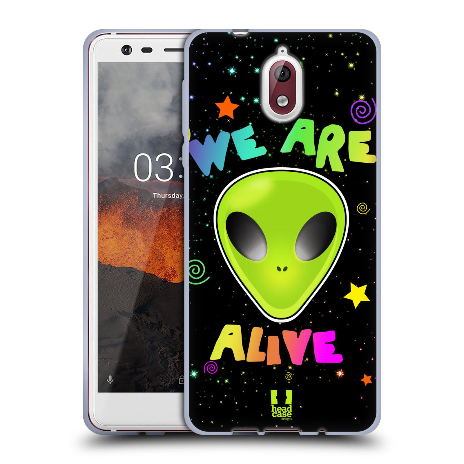 Silikonové pouzdro na mobil Nokia 3.1 - Head Case - ALIENS ALIVE