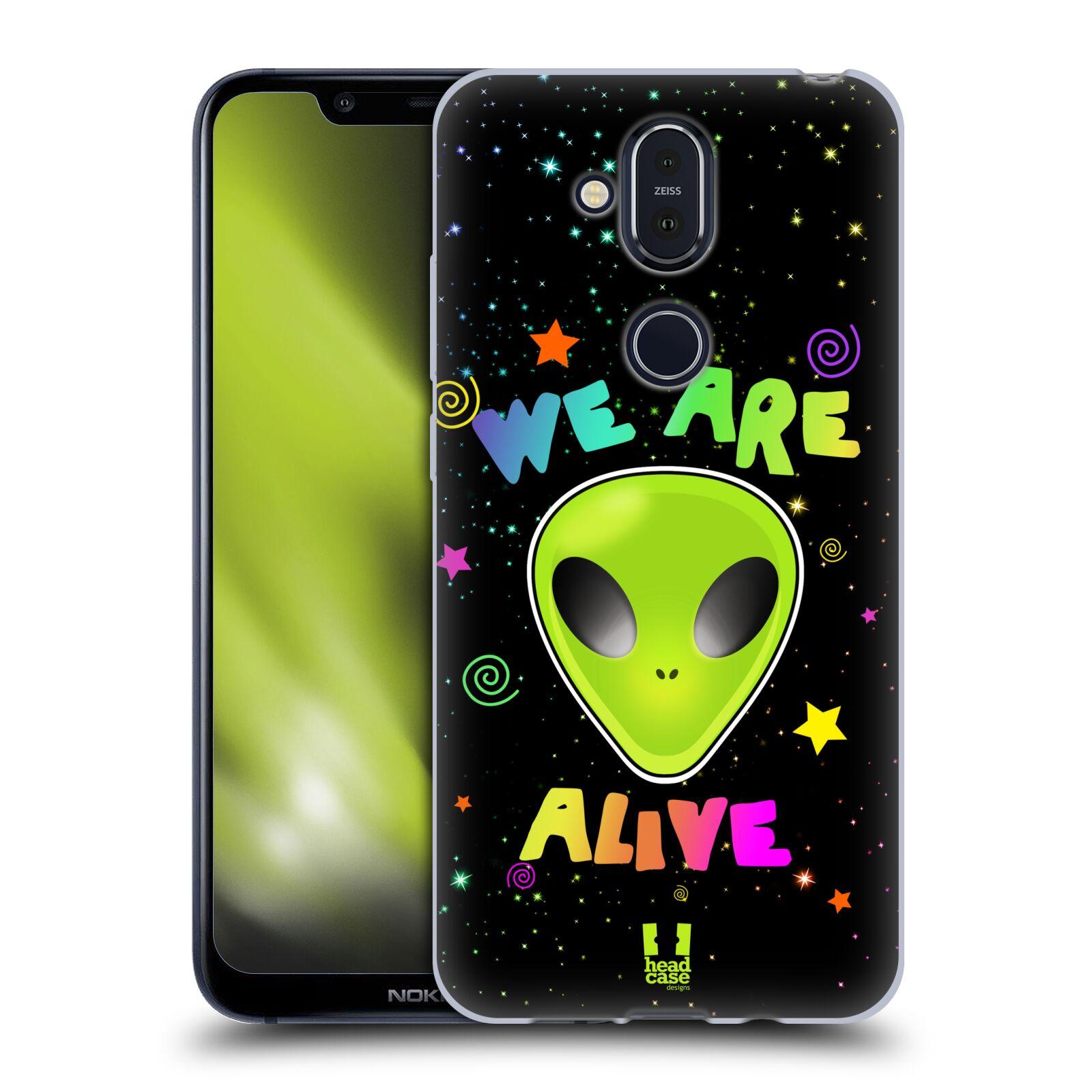 Silikonové pouzdro na mobil Nokia 8.1 - Head Case - ALIENS ALIVE