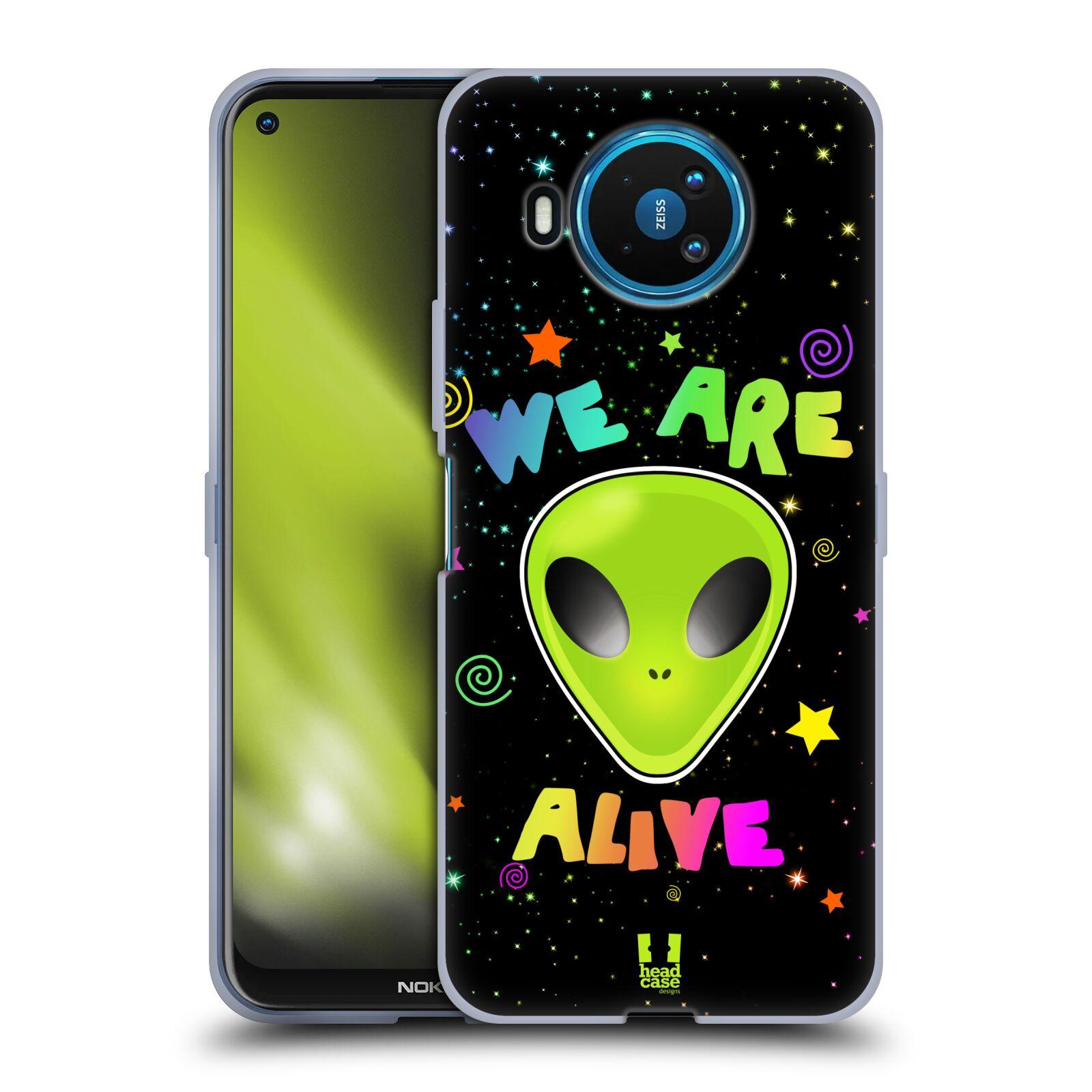 Silikonové pouzdro na mobil Nokia 8.3 5G - Head Case - ALIENS ALIVE