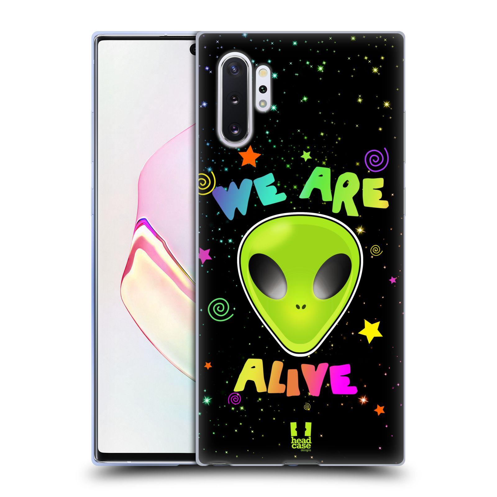 Silikonové pouzdro na mobil Samsung Galaxy Note 10 Plus - Head Case - ALIENS ALIVE