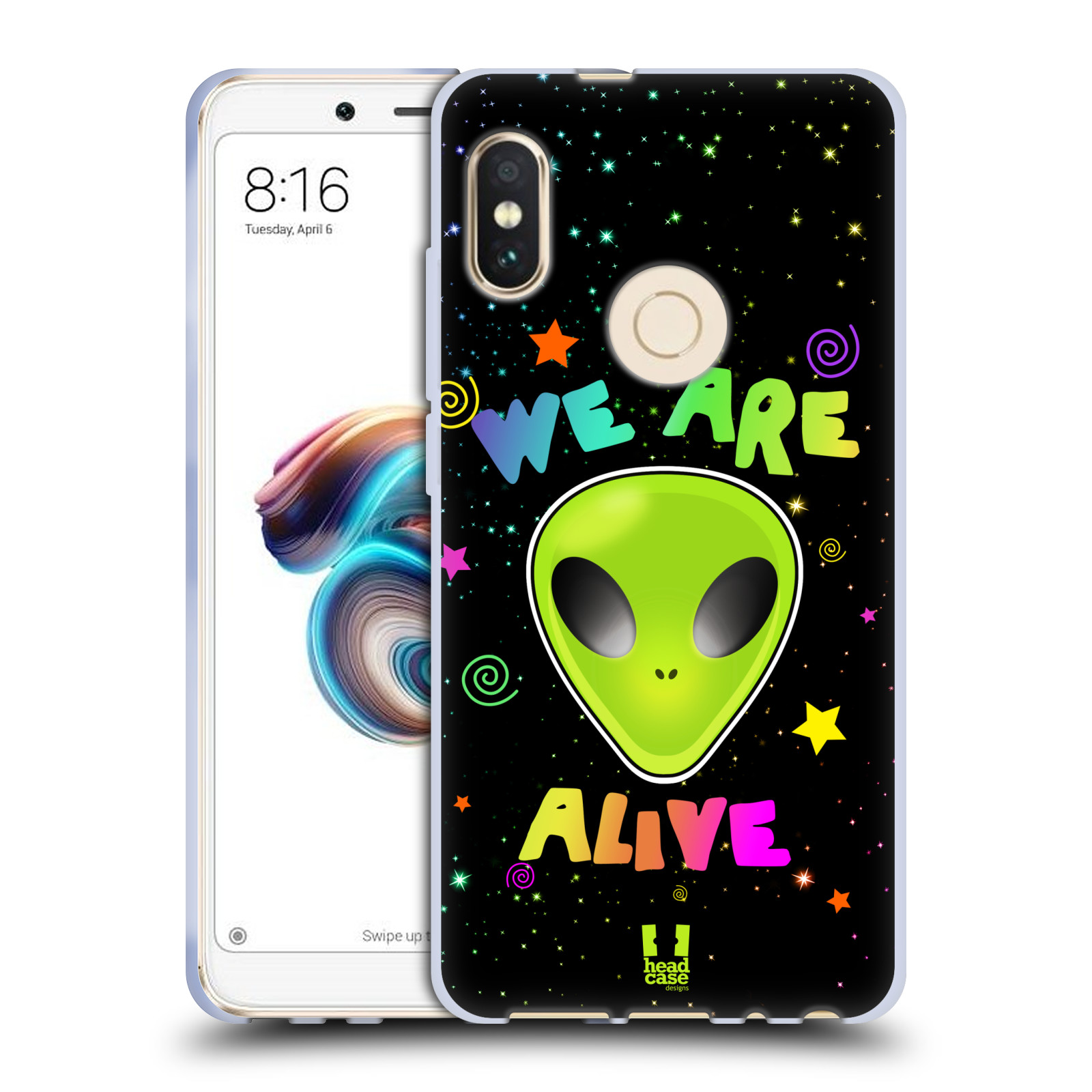Silikonové pouzdro na mobil Xiaomi Redmi Note 5 - Head Case - ALIENS ALIVE