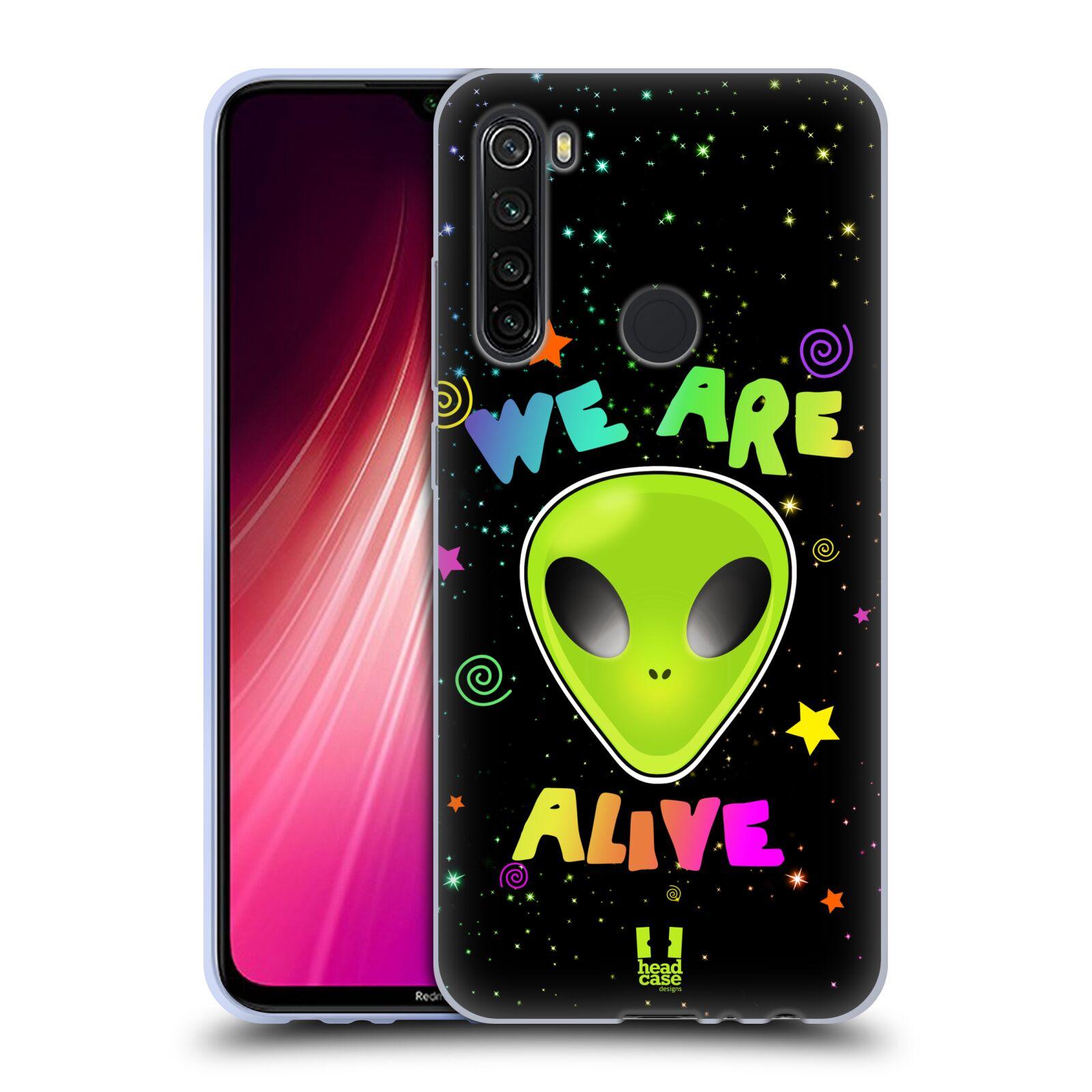 Silikonové pouzdro na mobil Xiaomi Redmi Note 8T - Head Case - ALIENS ALIVE