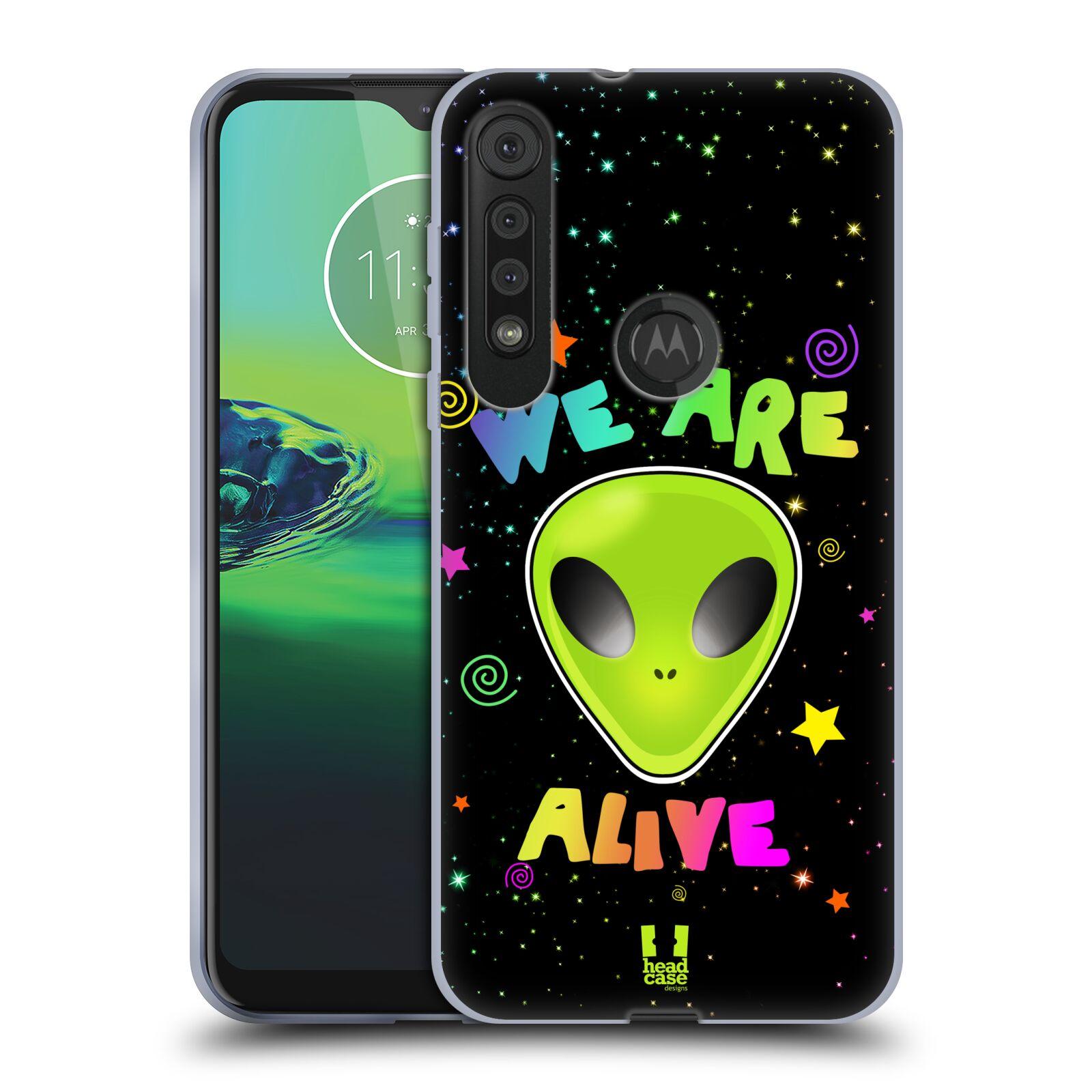Silikonové pouzdro na mobil Motorola One Macro - Head Case - ALIENS ALIVE