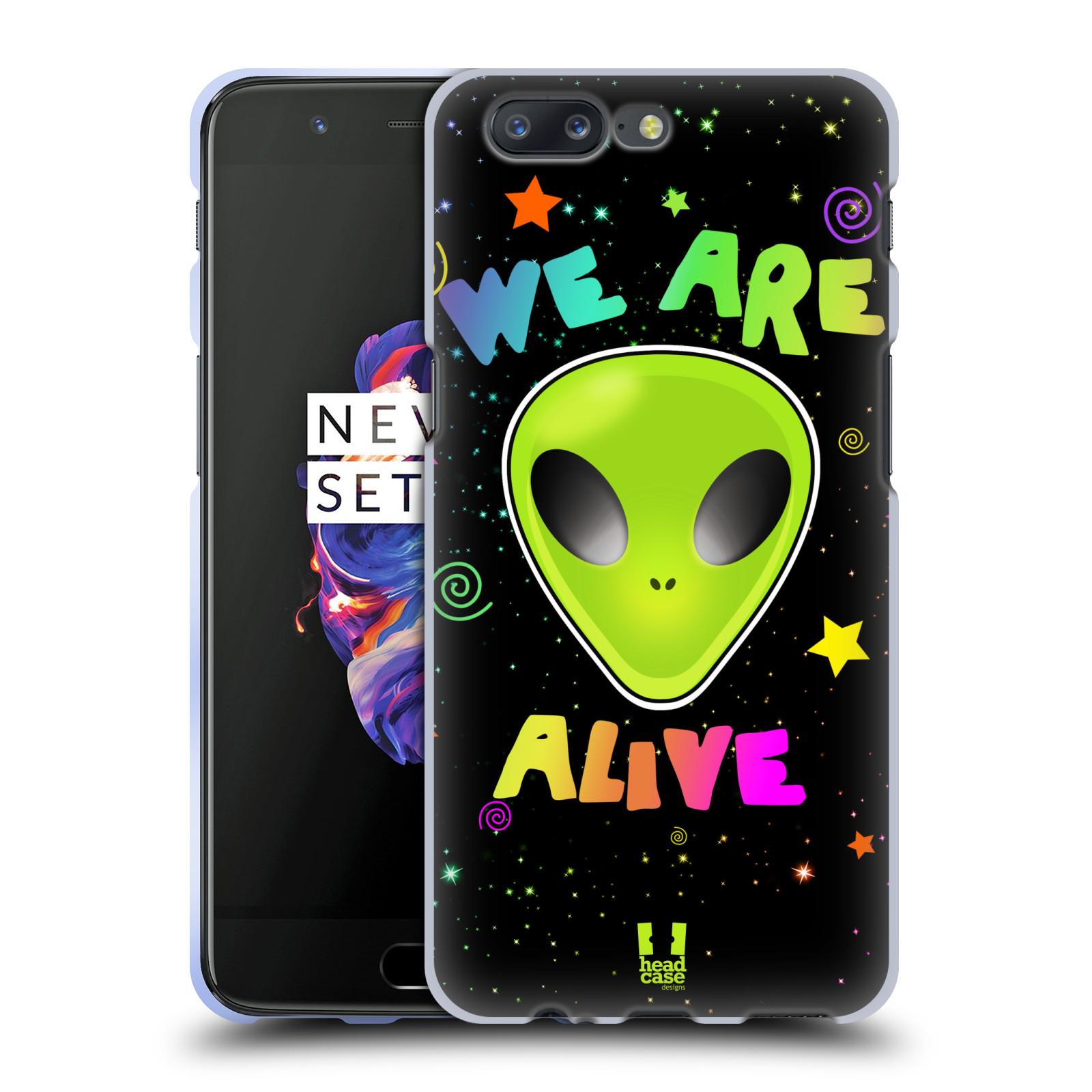 Silikonové pouzdro na mobil OnePlus 5 - Head Case - ALIENS ALIVE