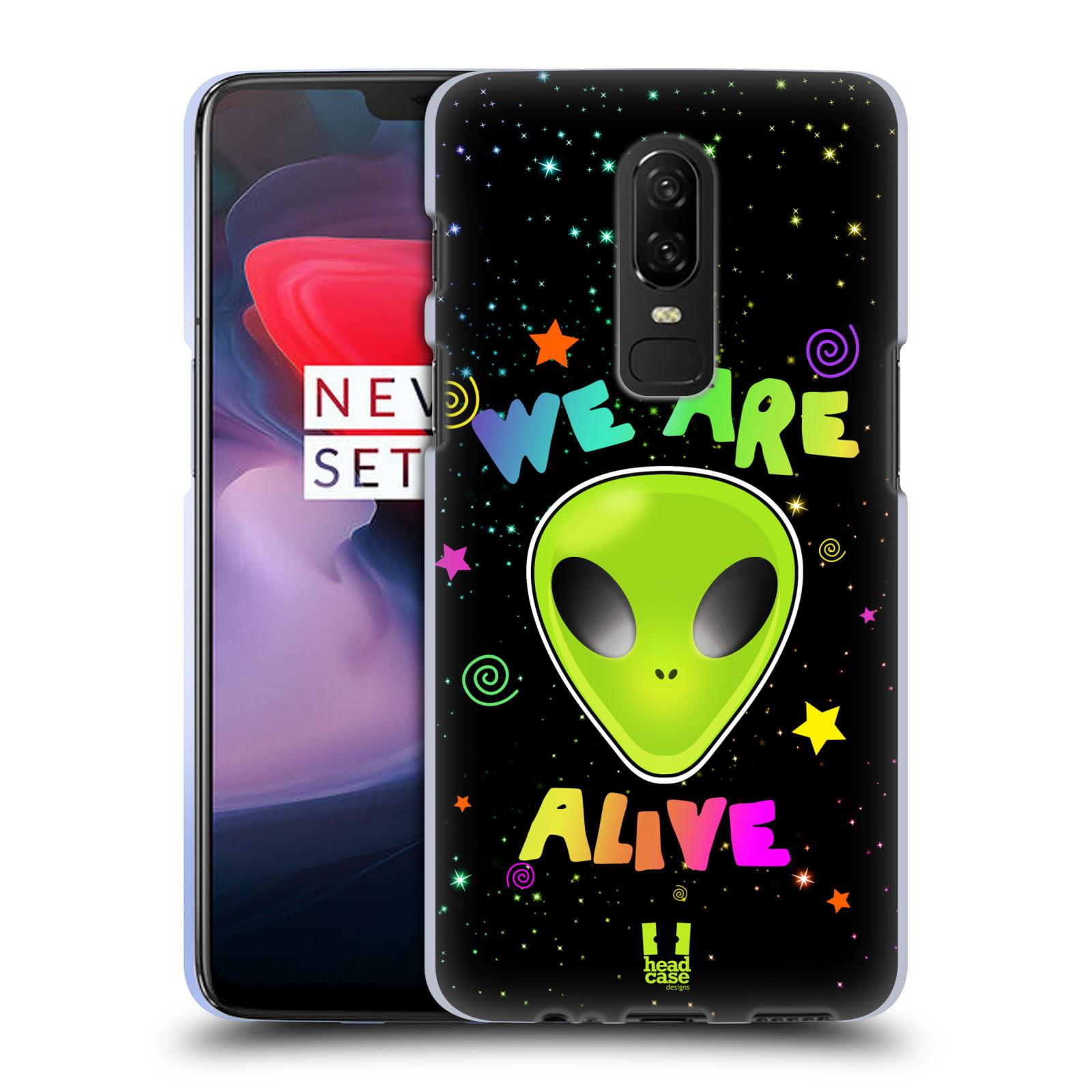 Silikonové pouzdro na mobil OnePlus 6 - Head Case - ALIENS ALIVE