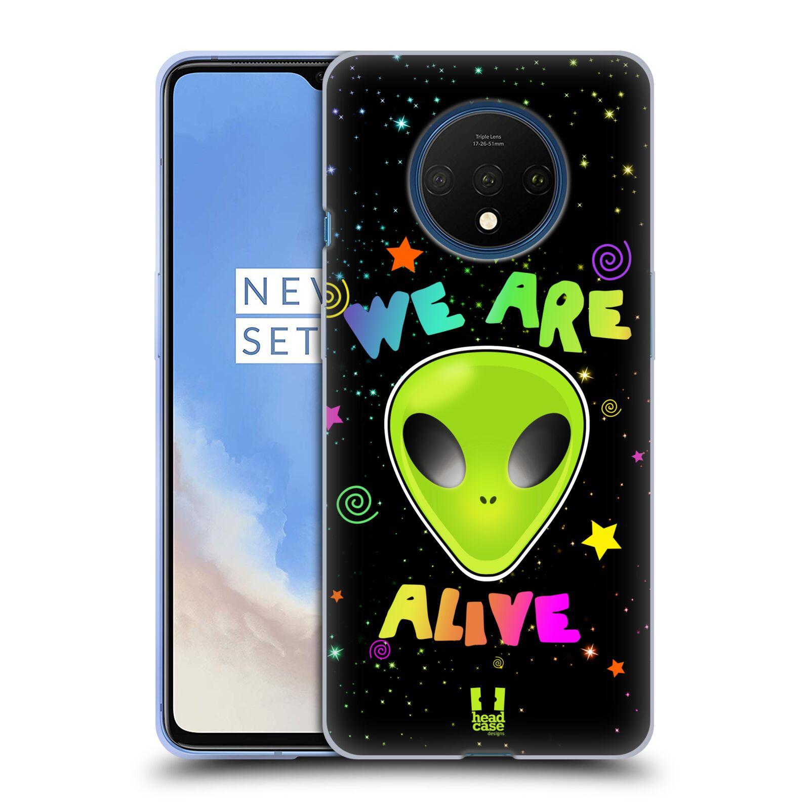 Silikonové pouzdro na mobil OnePlus 7T - Head Case - ALIENS ALIVE