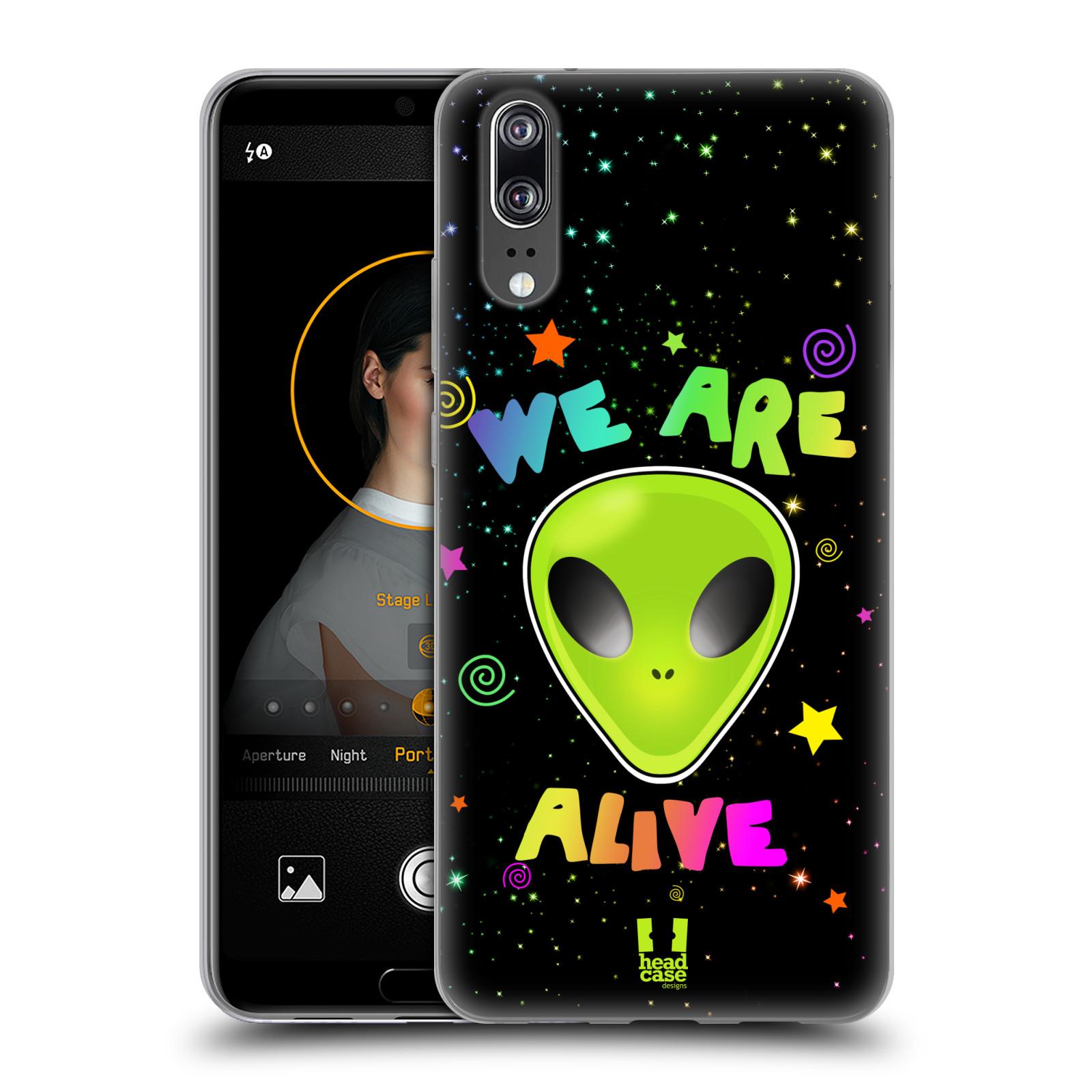 Silikonové pouzdro na mobil Huawei P20 - Head Case - ALIENS ALIVE