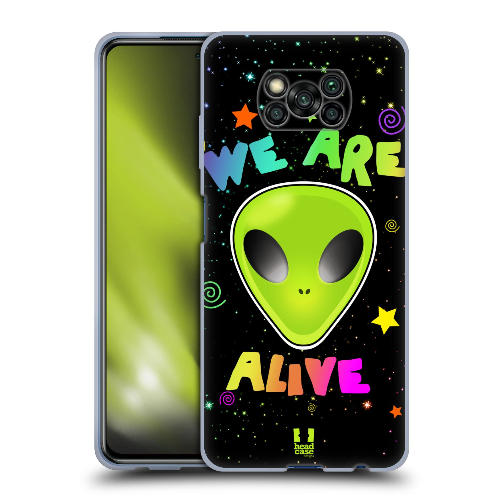 Silikonové pouzdro na mobil Xiaomi Poco X3 NFC - Head Case - ALIENS ALIVE