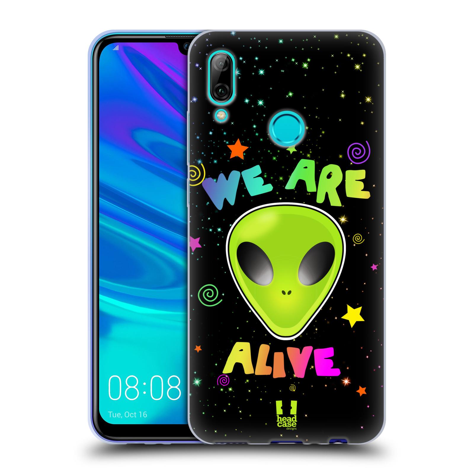 Silikonové pouzdro na mobil Huawei P Smart (2019) - Head Case - ALIENS ALIVE