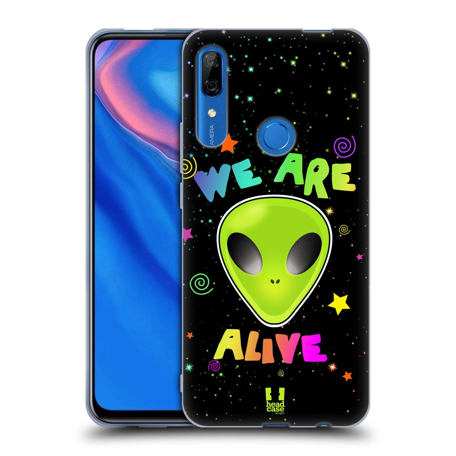 Silikonové pouzdro na mobil Huawei P Smart Z - Head Case - ALIENS ALIVE