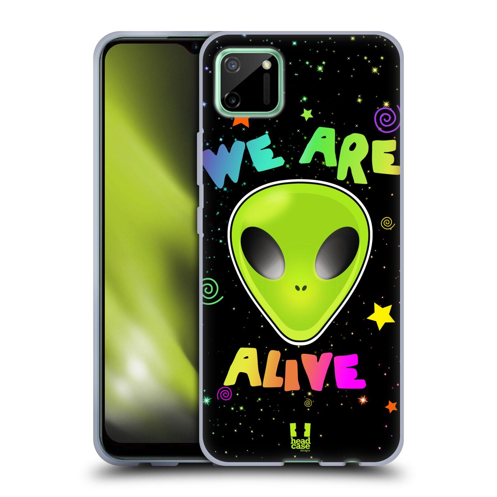 Silikonové pouzdro na mobil Realme C11 - Head Case - ALIENS ALIVE