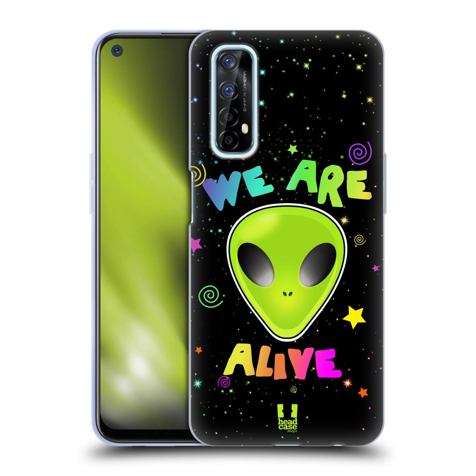 Silikonové pouzdro na mobil Realme 7 - Head Case - ALIENS ALIVE