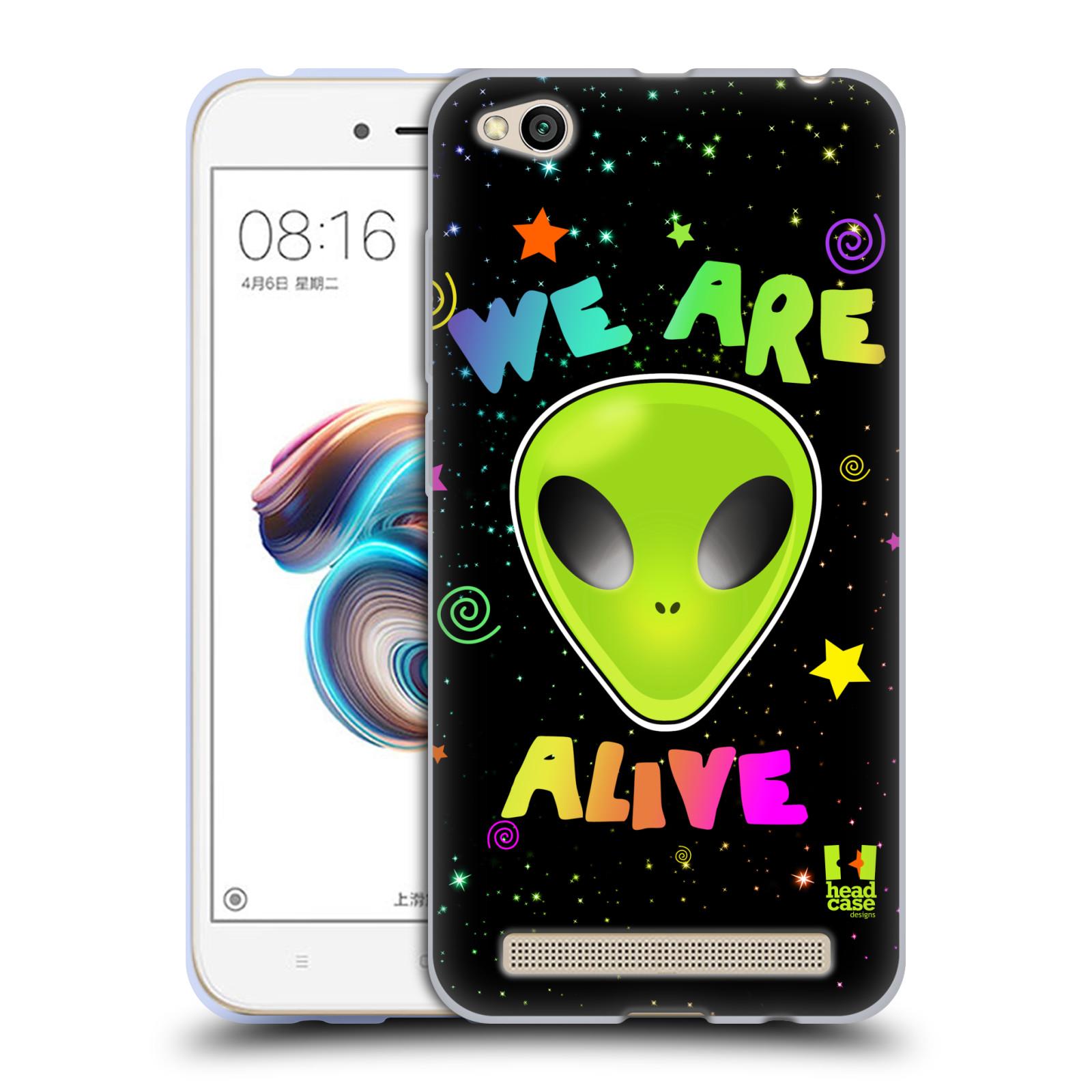 Silikonové pouzdro na mobil Xiaomi Redmi 5A - Head Case - ALIENS ALIVE