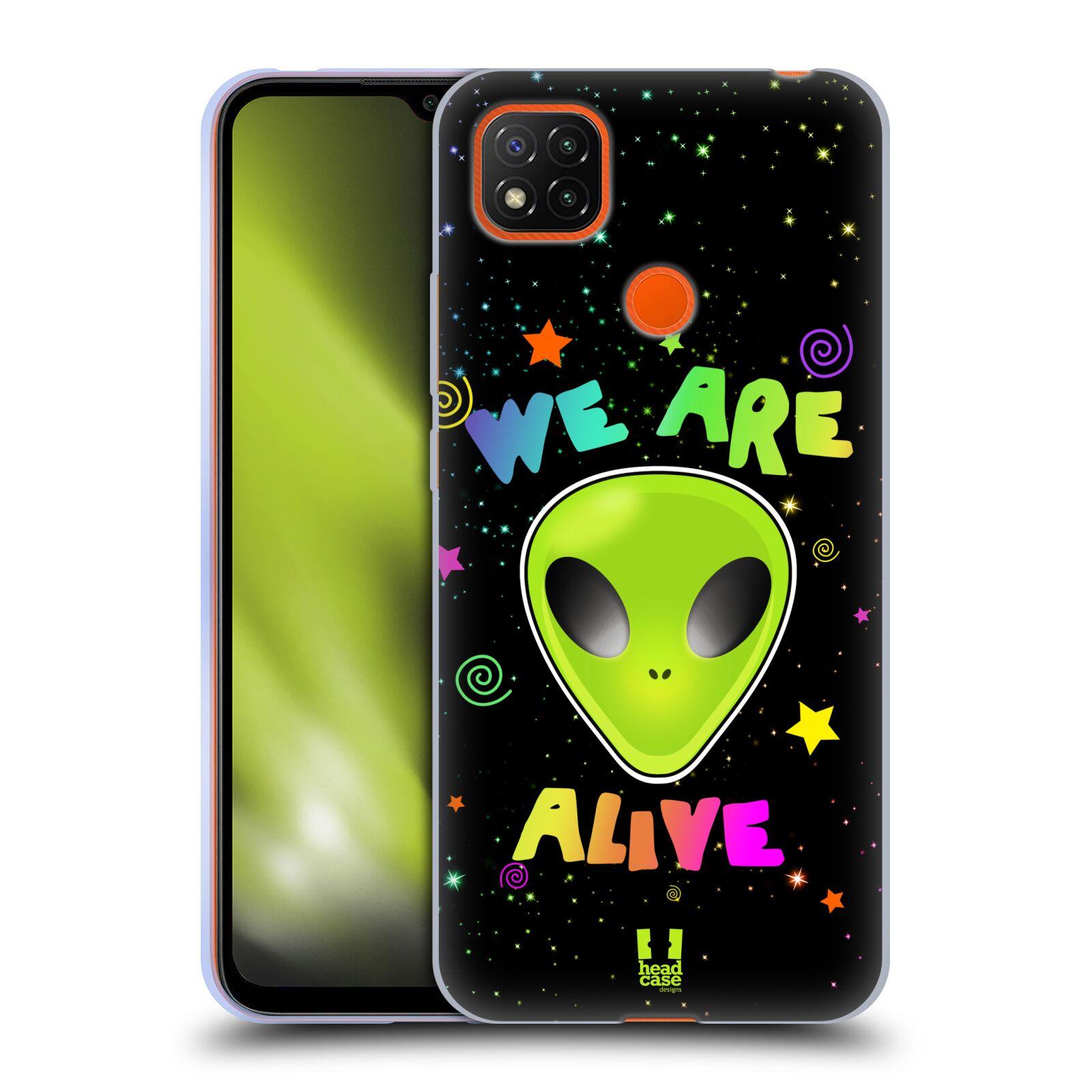 Silikonové pouzdro na mobil Xiaomi Redmi 9C - Head Case - ALIENS ALIVE