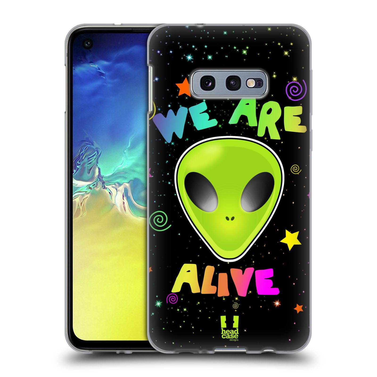 Silikonové pouzdro na mobil Samsung Galaxy S10e - Head Case - ALIENS ALIVE