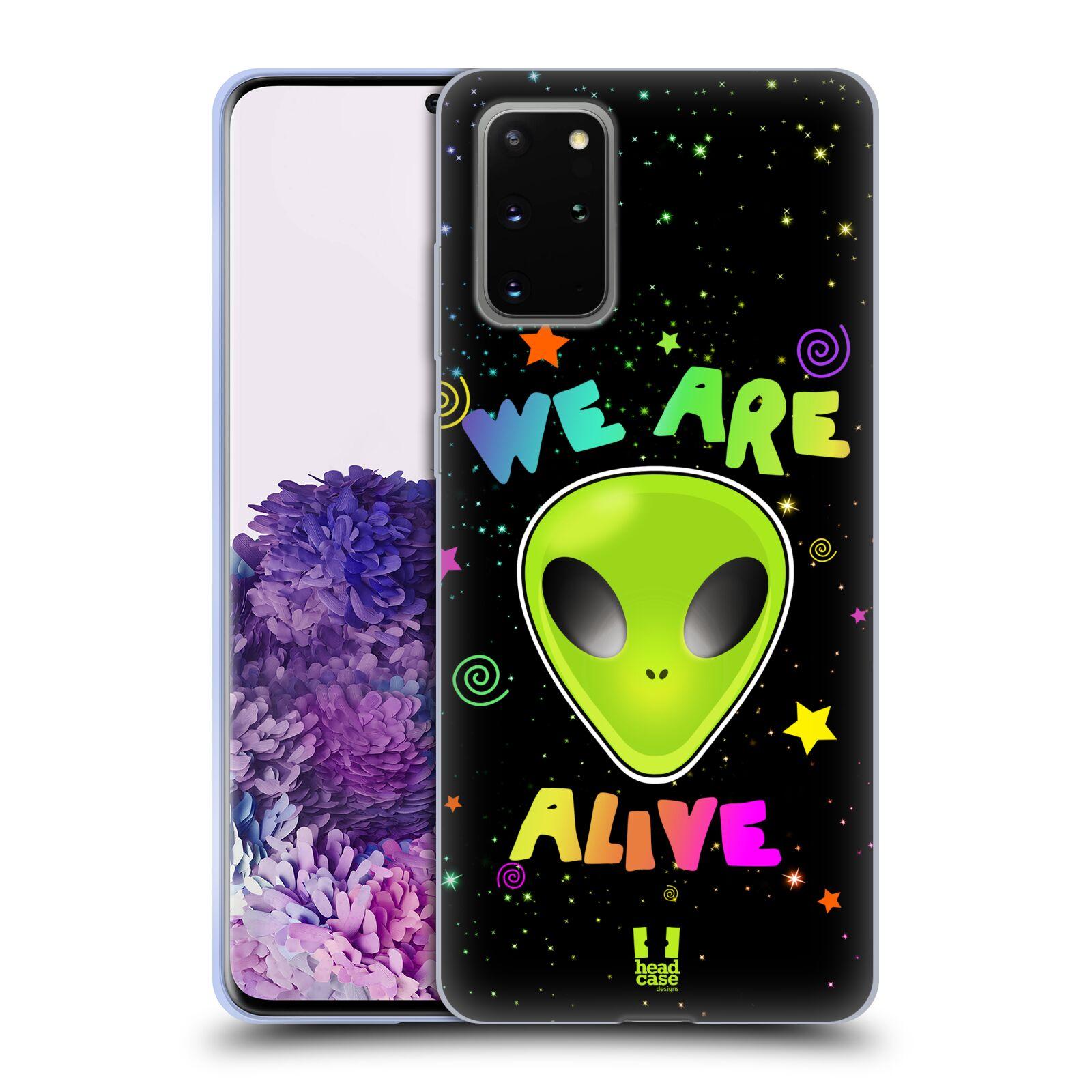 Silikonové pouzdro na mobil Samsung Galaxy S20 Plus - Head Case - ALIENS ALIVE