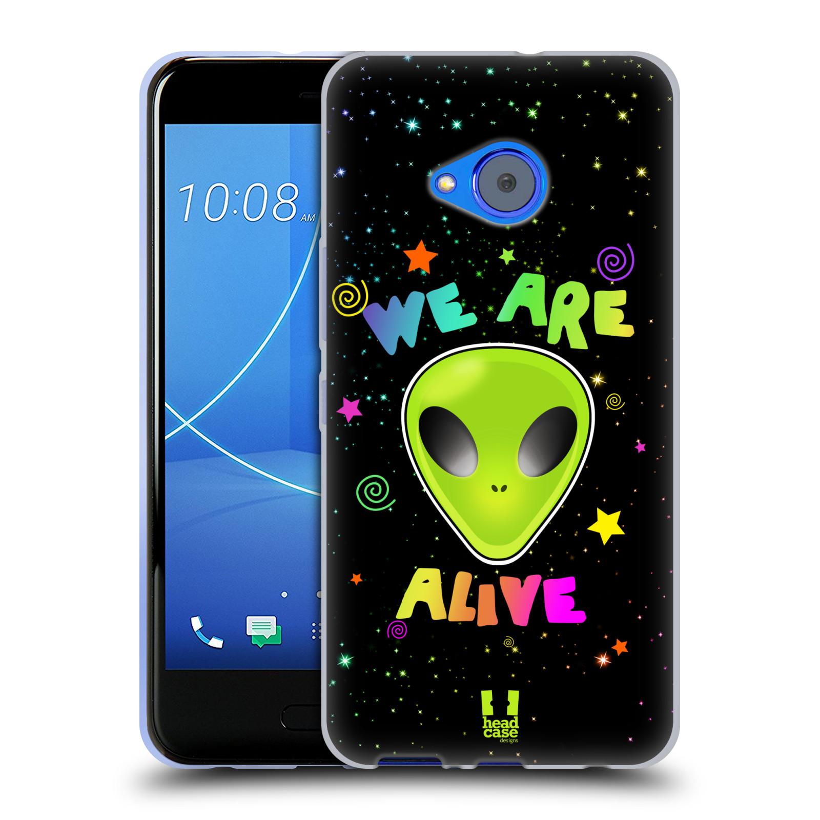 Silikonové pouzdro na mobil HTC U11 Life - Head Case - ALIENS ALIVE