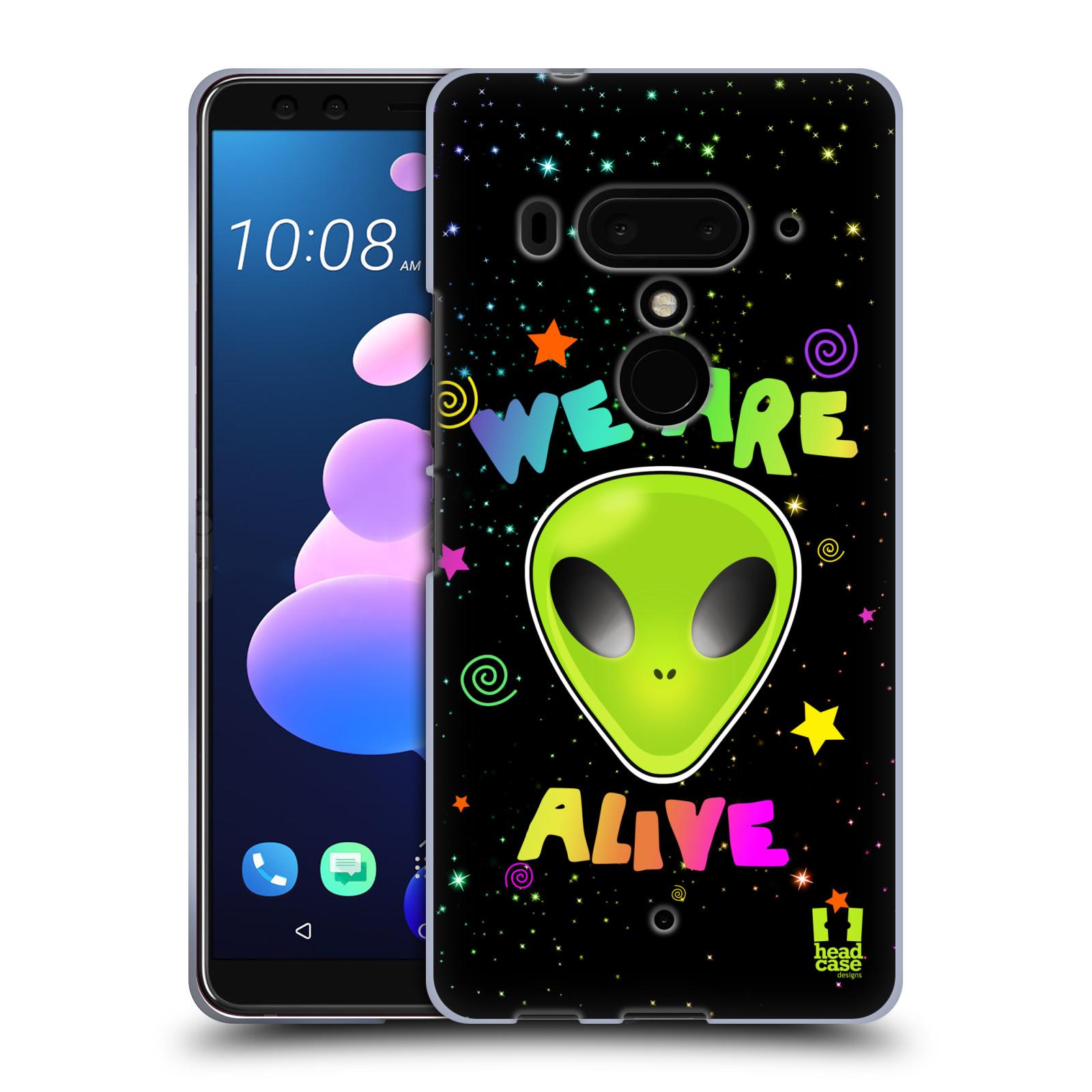 Silikonové pouzdro na mobil HTC U12 Plus - Head Case - ALIENS ALIVE