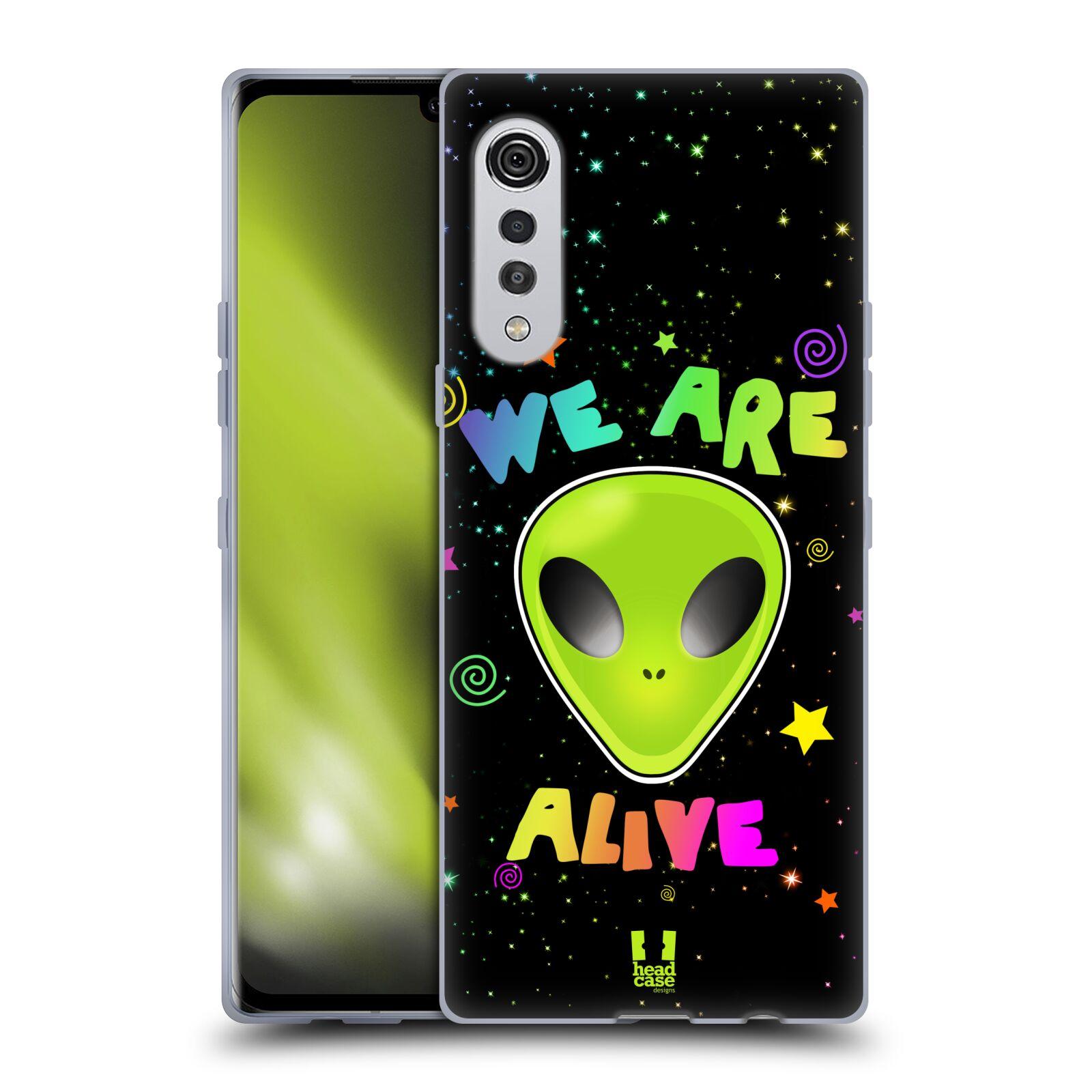 Silikonové pouzdro na mobil LG Velvet - Head Case - ALIENS ALIVE