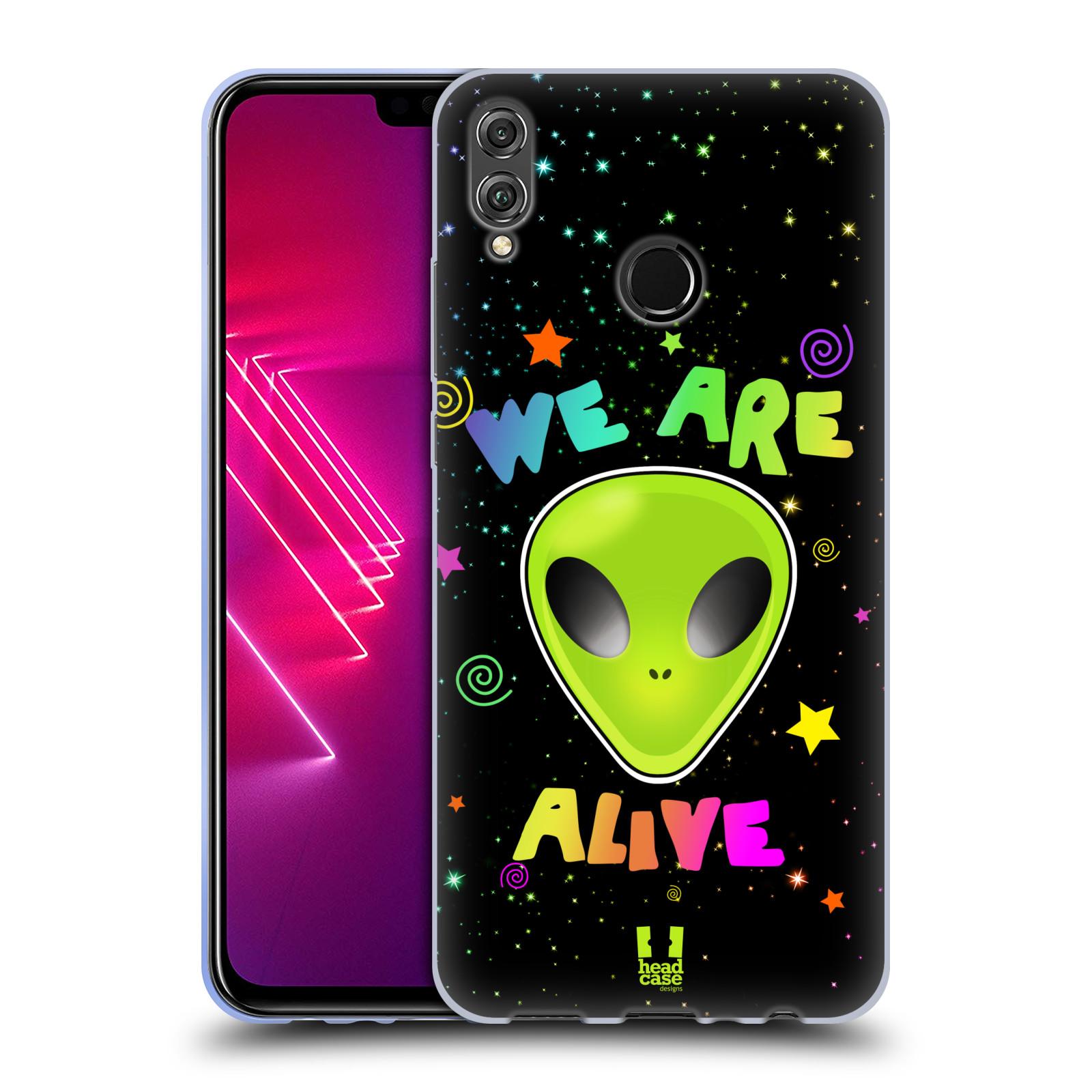 Silikonové pouzdro na mobil Honor View 10 Lite - Head Case - ALIENS ALIVE