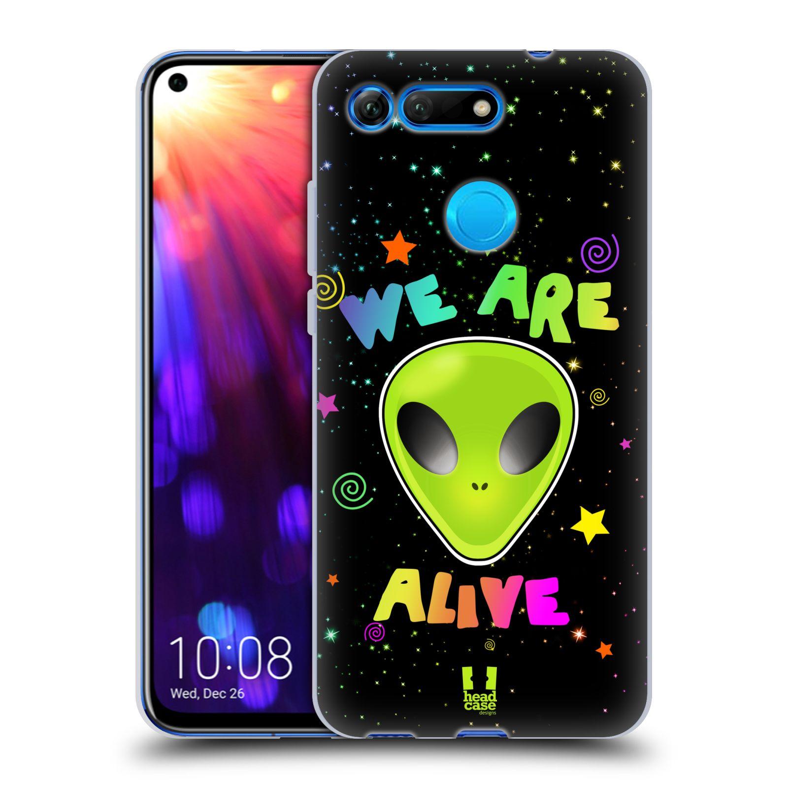 Silikonové pouzdro na mobil Honor View 20 - Head Case - ALIENS ALIVE